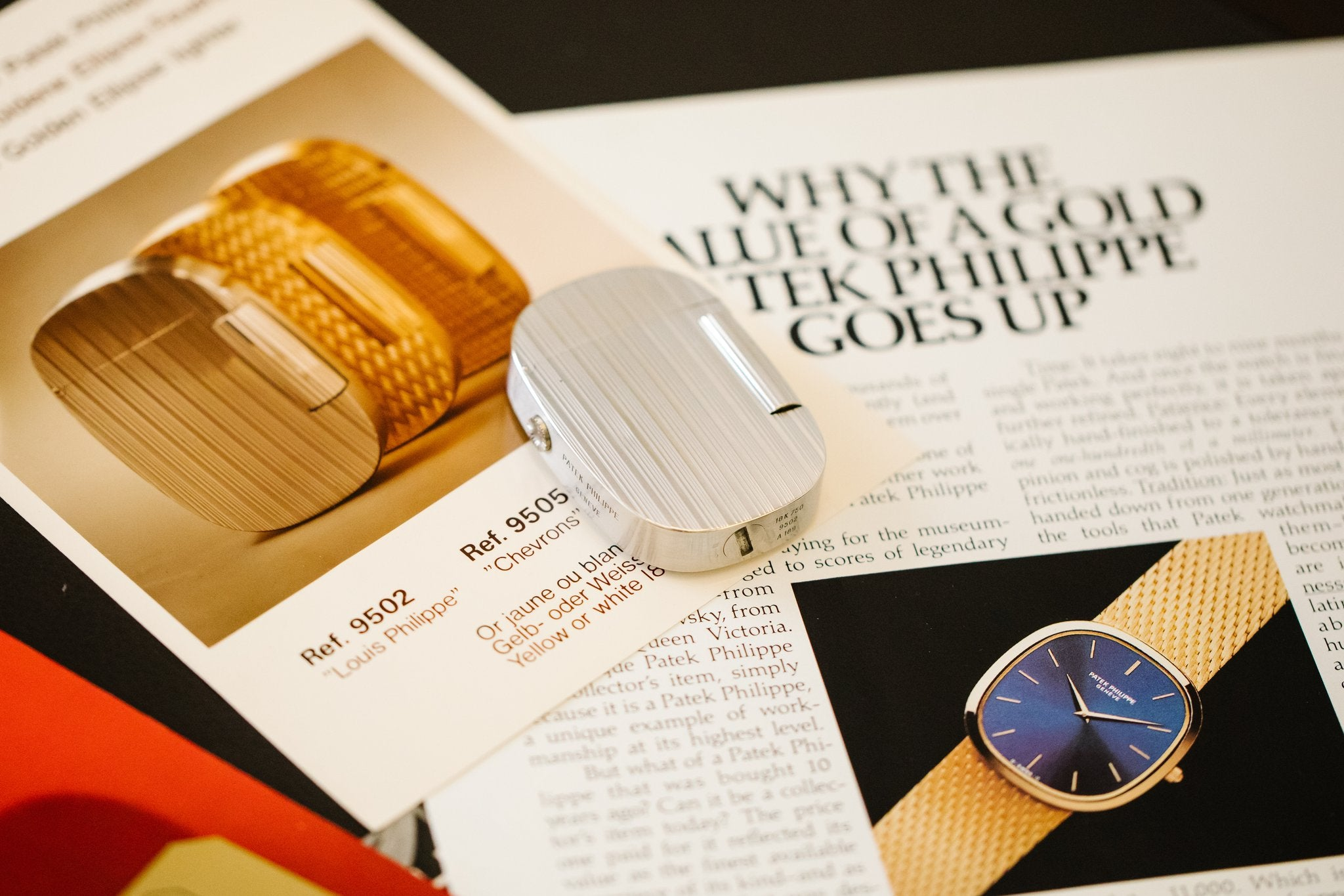 Patek Philippe Golden Ellipse lighter on watch ads  In Why the Patek Philippe Golden Ellipse Should Matter Just as Much as the Nautilus for A Collected Man London