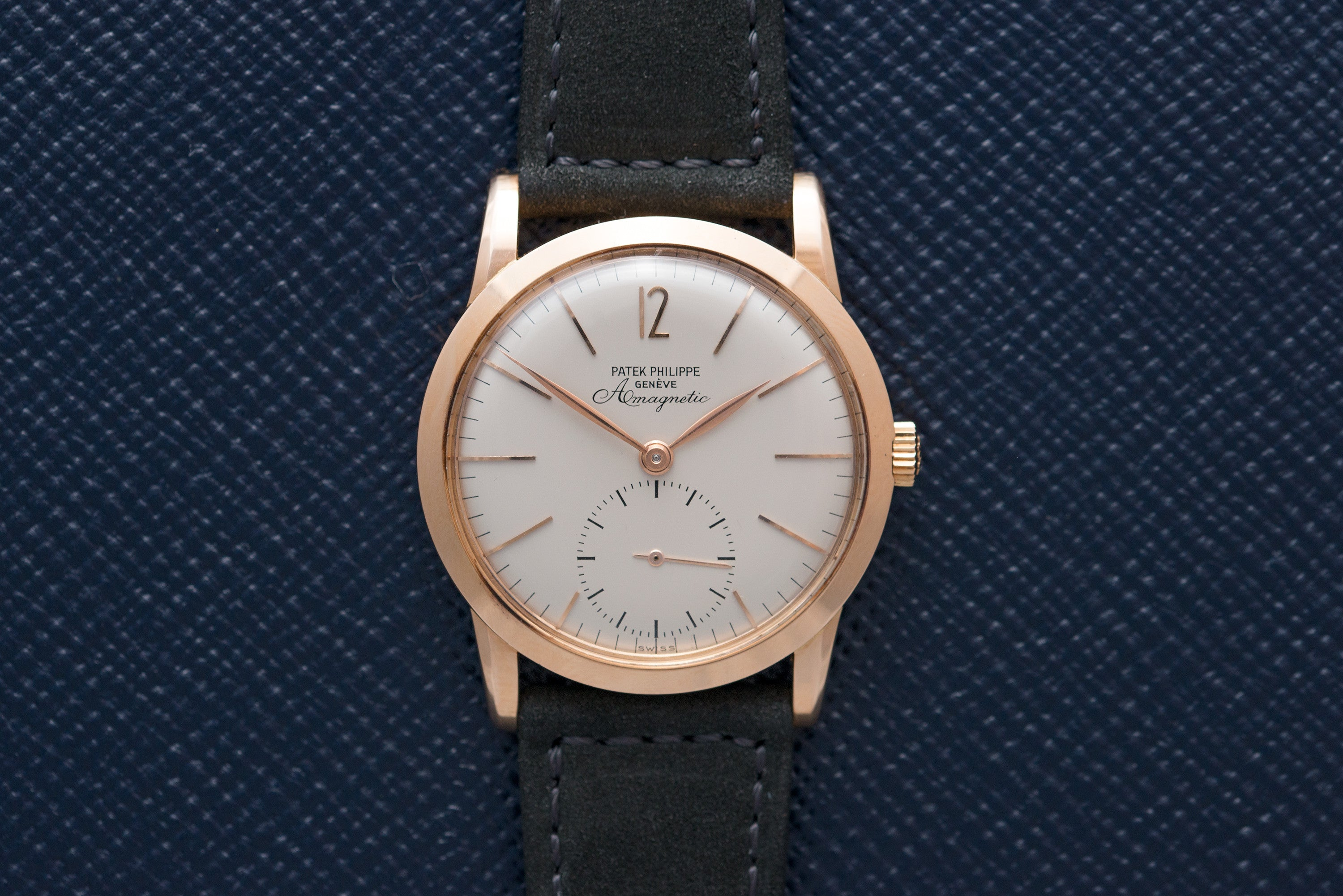 Patek Philippe 2570/1 pink gold watch at A Collected Man