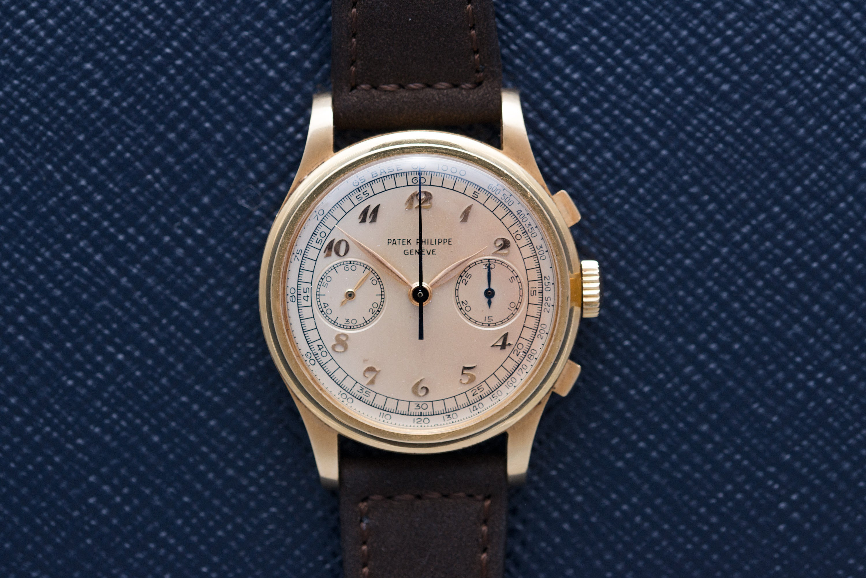 Patek Philippe 530 in yellow gold at A Collected Man - home of rare watches