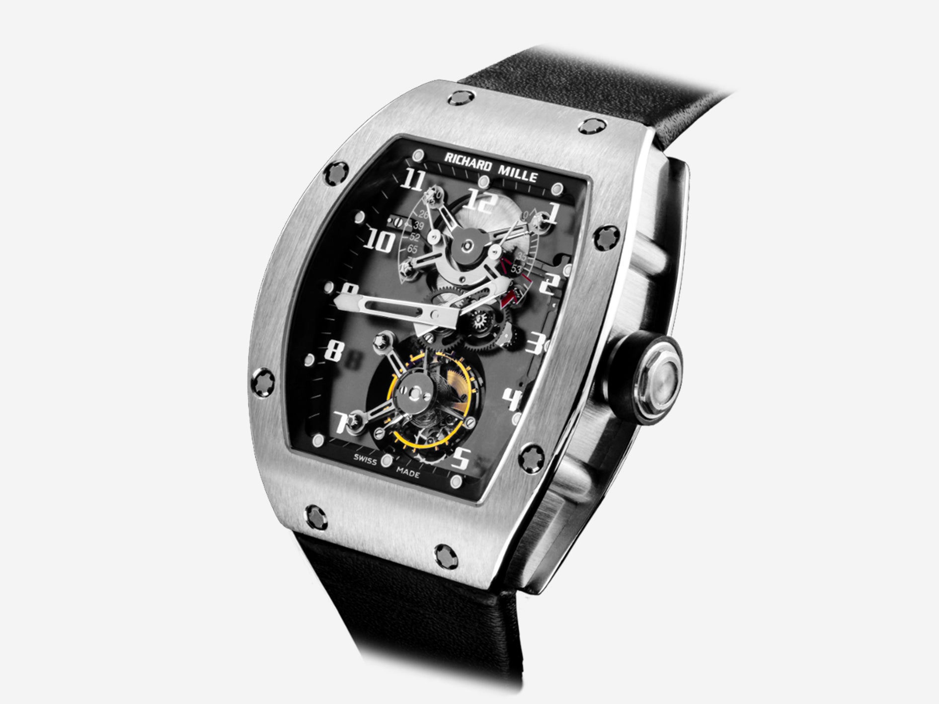 Richard Mille RM001 in white gold pre-production model for early Richard Mille for A Collected Man London