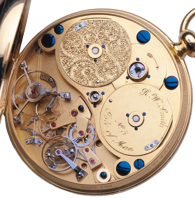Roger W. Smith watchmaker number 3 pocket watch movement for A Collected Man London