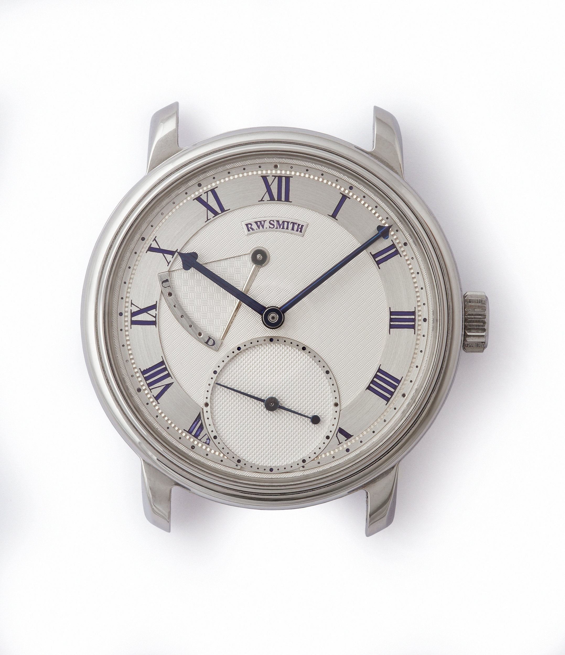 Roger W. Smith Series 2 in stainless steel for A Collected Man London