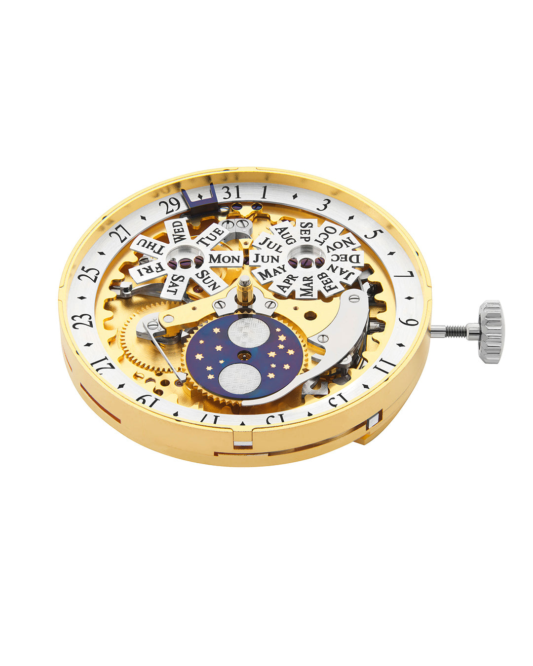 Roger W. Smith watchmaker Series 4 movement for A Collected Man London