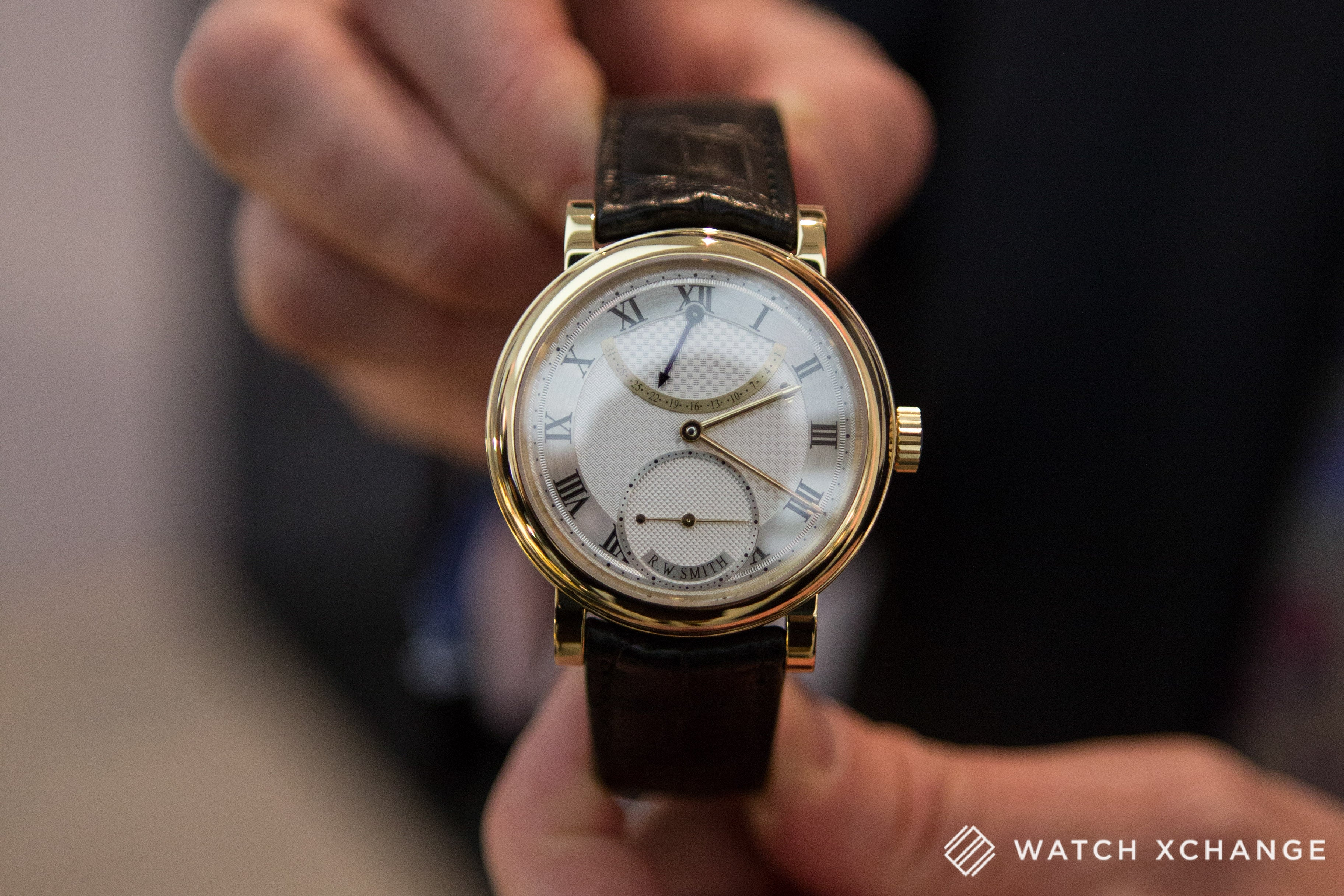 Roger W. Smith independent British watchmaker Series 3 watch at Salon QP London 2015