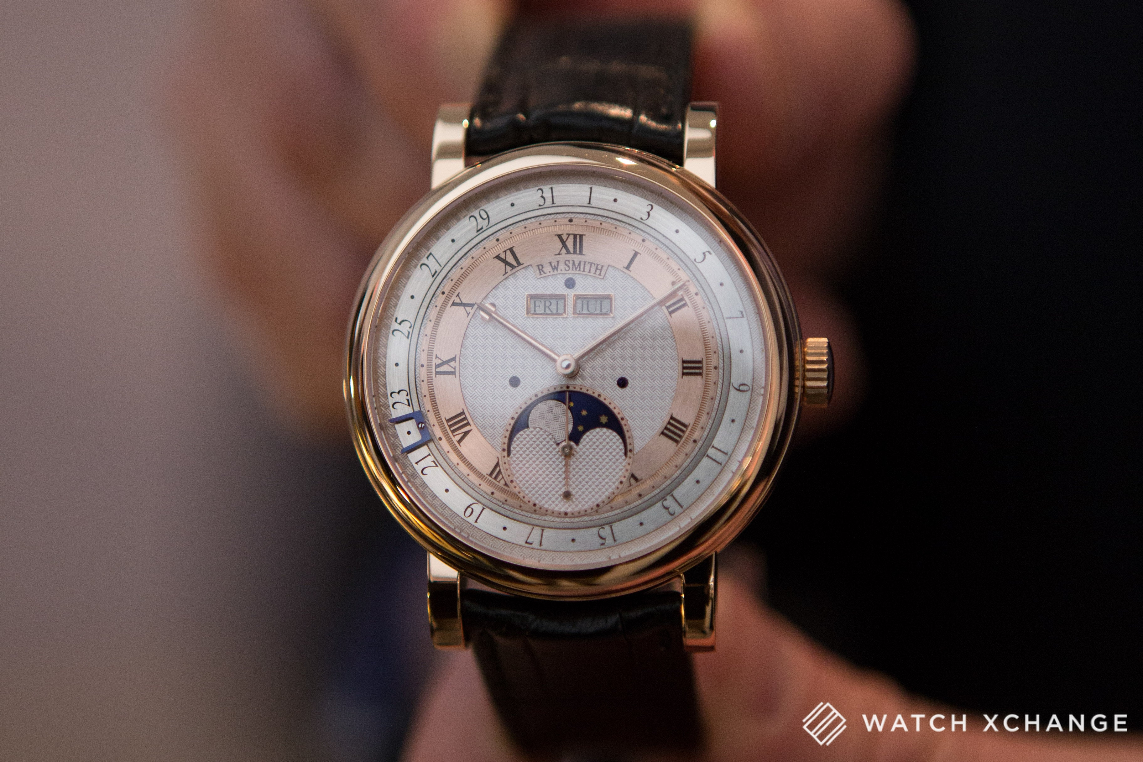 Roger W. Smith independent British watchmaker new Series 4 watch at Salon QP London 2015