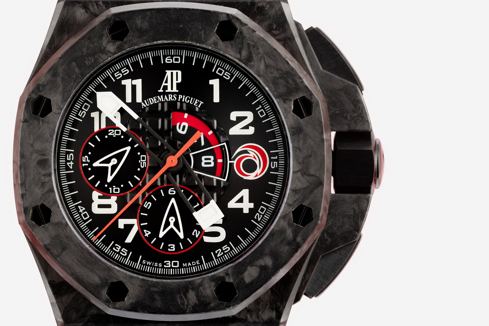 Audemars Piguet Royal Oak Offshore collaboration with Team Alinghi incorrect logo for A Collected Man London