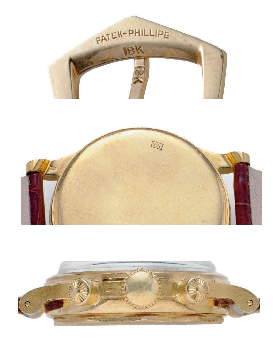 Patek Philippe misspelled on the buckle Patek Phillipe buckle for A Collected Man London