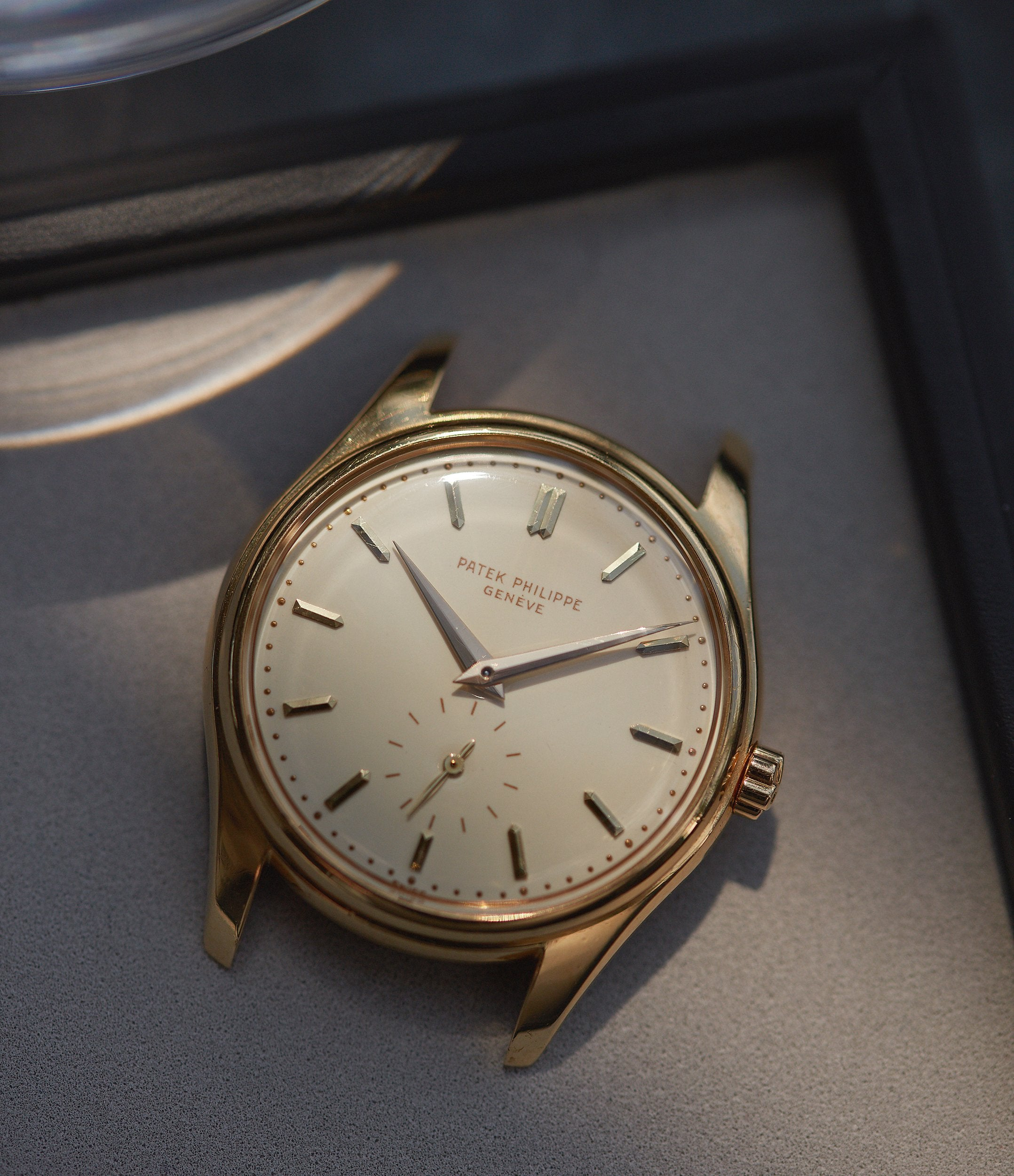 Yellow gold Patek Philippe ref. 2526 in The Art of Enamel Dials for A Collected Man London