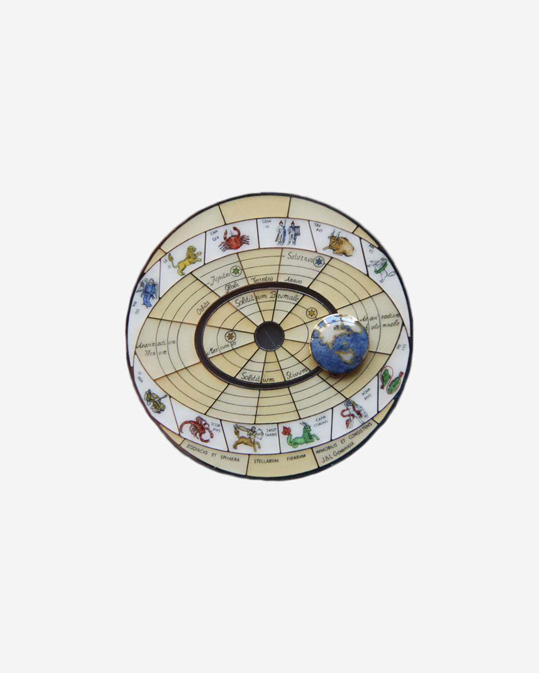 Jean Genbrugge Copernicus dial in The Art of Enamel Dials for A Collected Man London