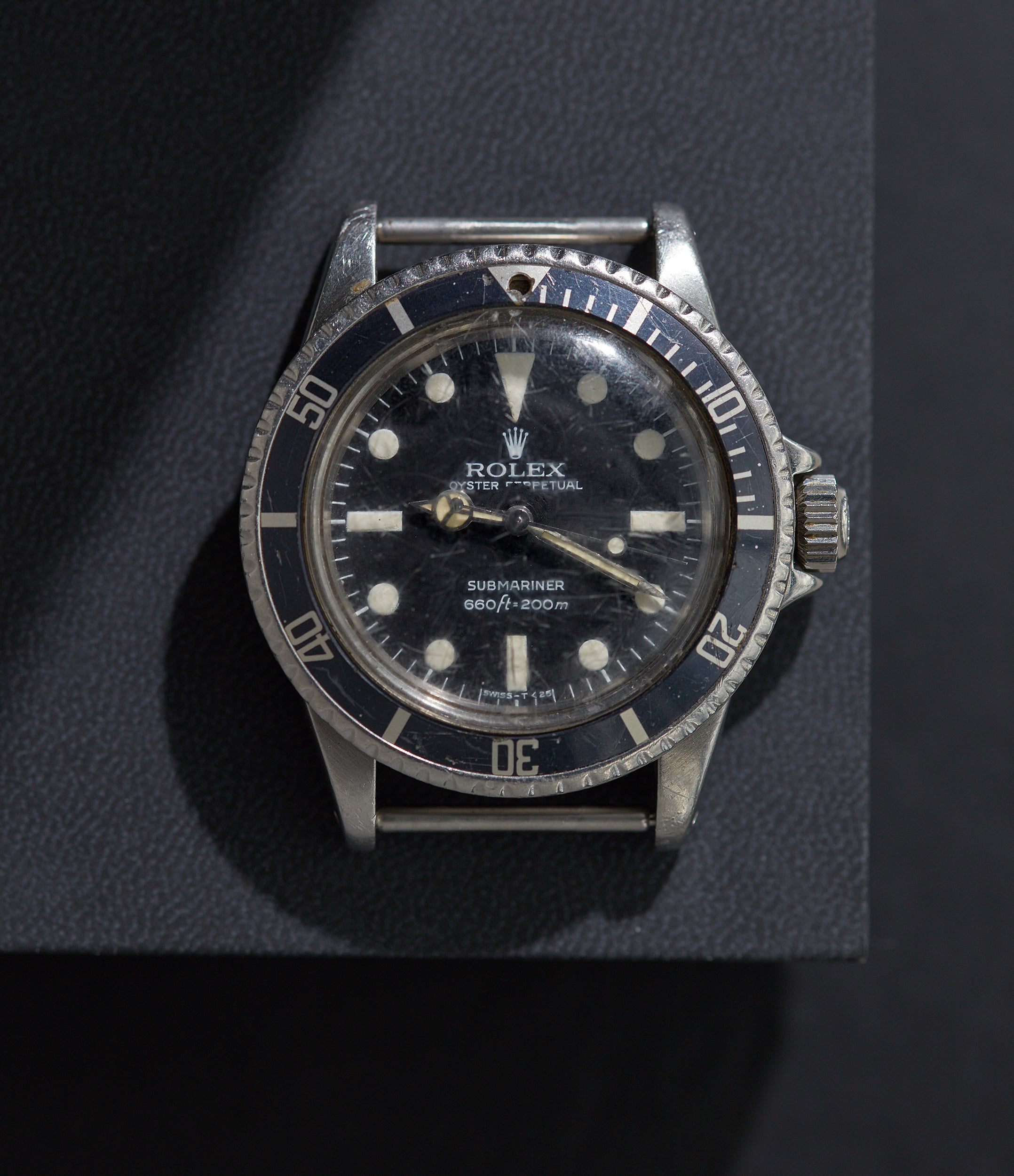Rolex Submariner 5513 on time In Some of the Mistakes we've Made in Buying Watches for A Collected Man London