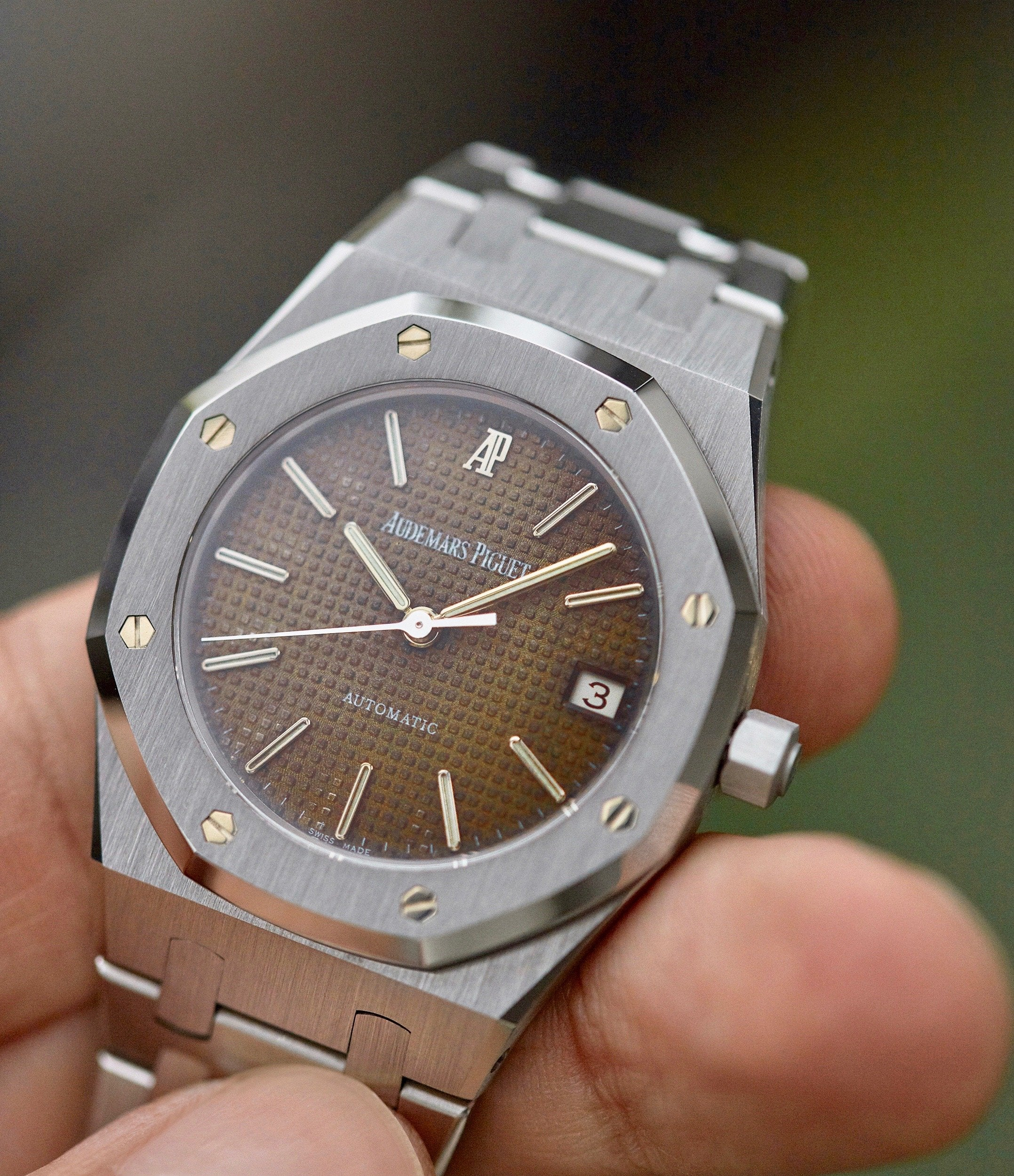 Tropical Royal Oak 14790ST in The Rise of Neo-Vintage Watches for A Collected Man London