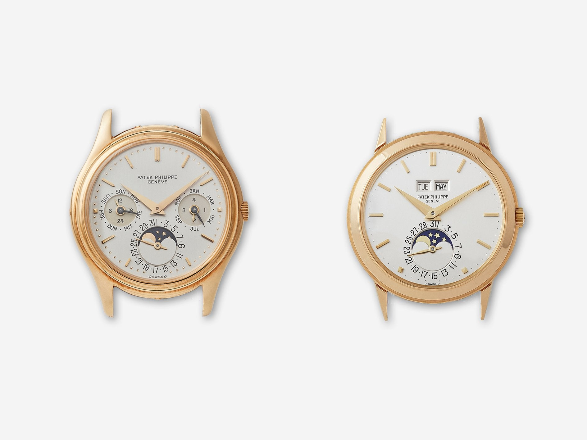 Patek Philippe 3448 and 3940 in The Rise of Neo-Vintage Watches for A Collected Man London