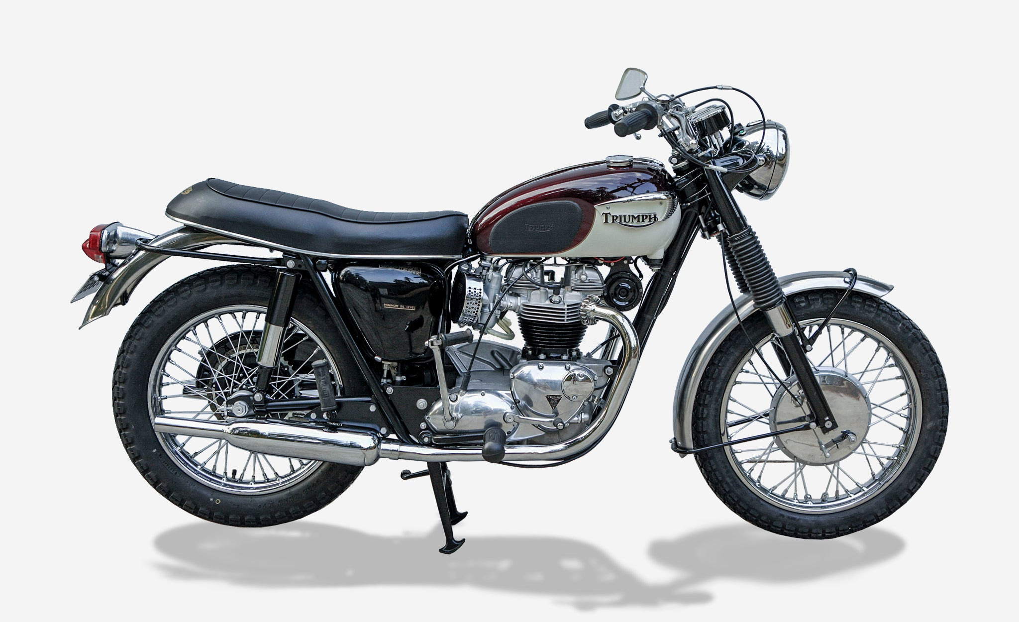 Triumph Bonneville British motorcycle
