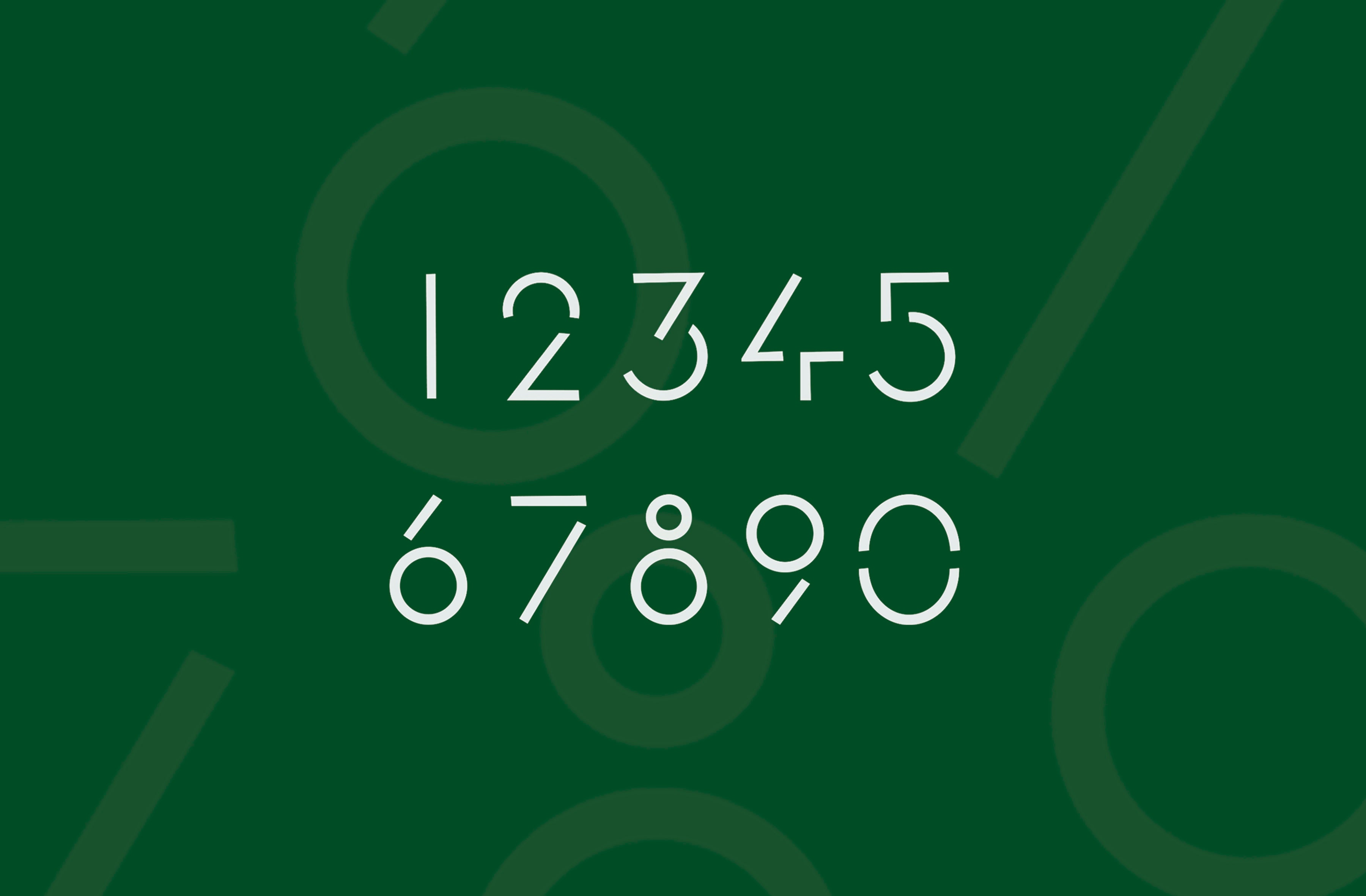 Slim d'Hermes typeface numerals minimalist A Collected Man London