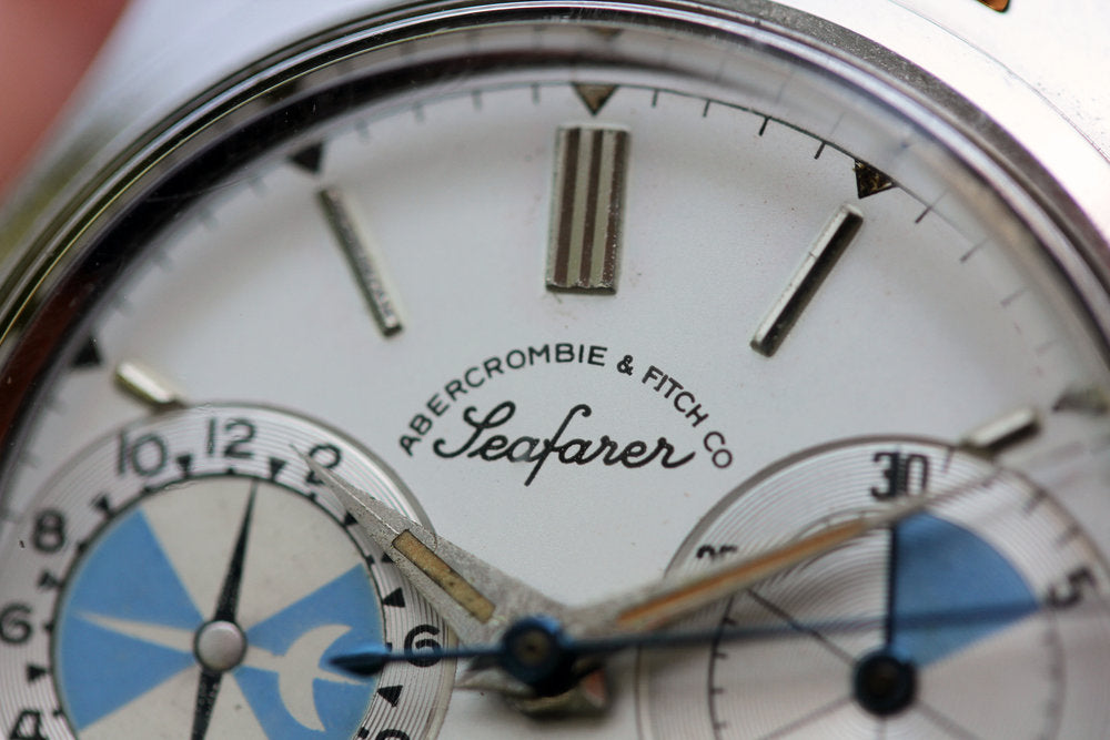 Abercrombie & Fitch in Our Favourite Uses of Typography in Watches for A Collected Man London