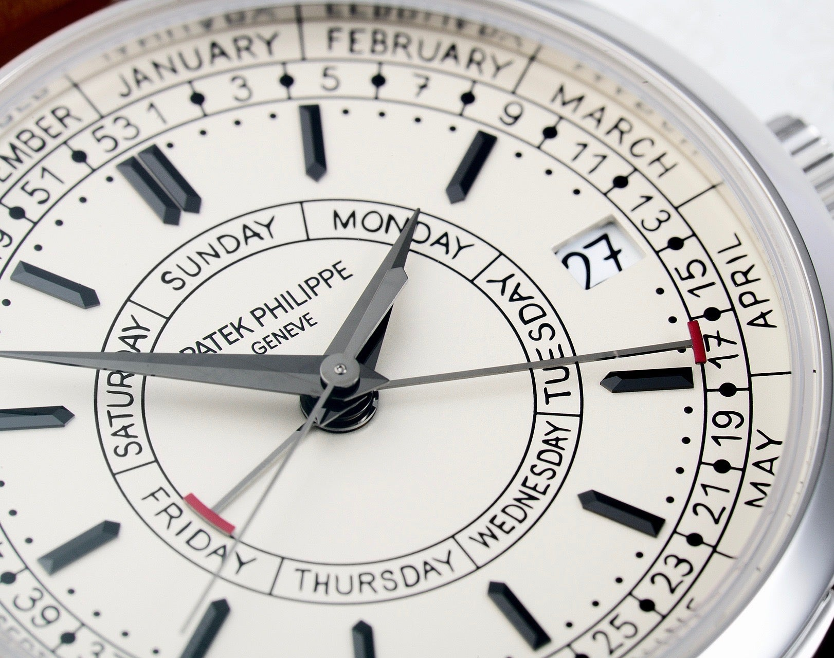Patek Philippe 5212A typeface in Our Favourite Uses of Typography in Watches for A Collected Man London