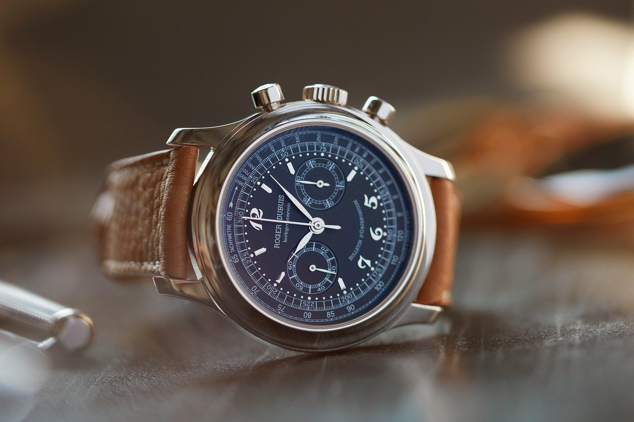 Breguet in Our Favourite Uses of Typography in Watches for A Collected Man London