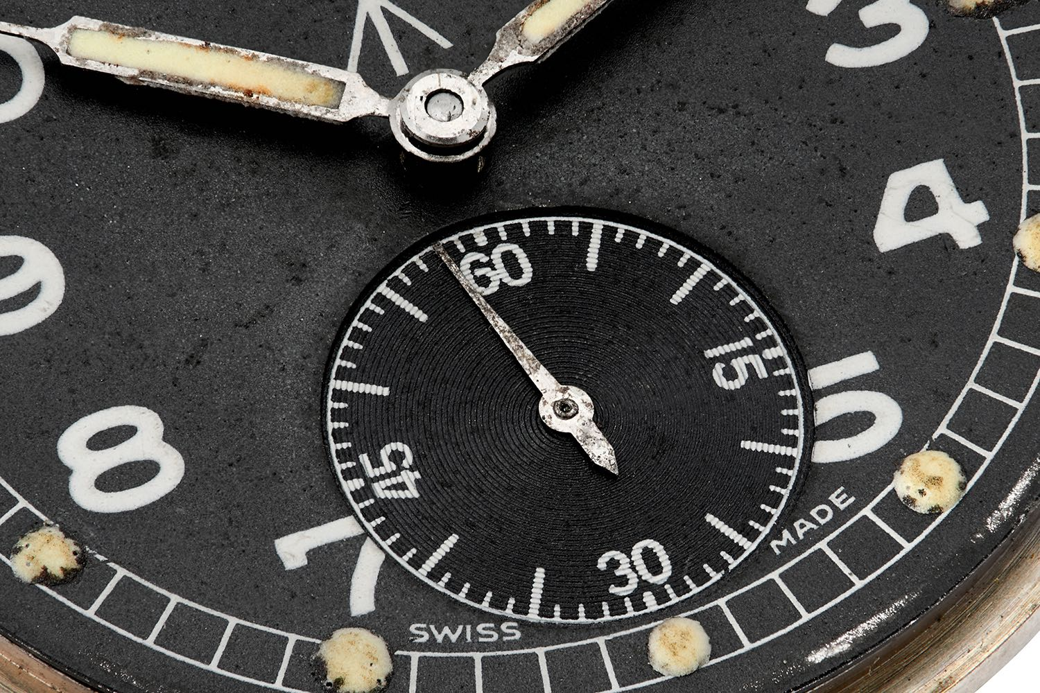 Vertex Cal. 59 Nav in Our Favourite Uses of Typography in Watches for A Collected Man London