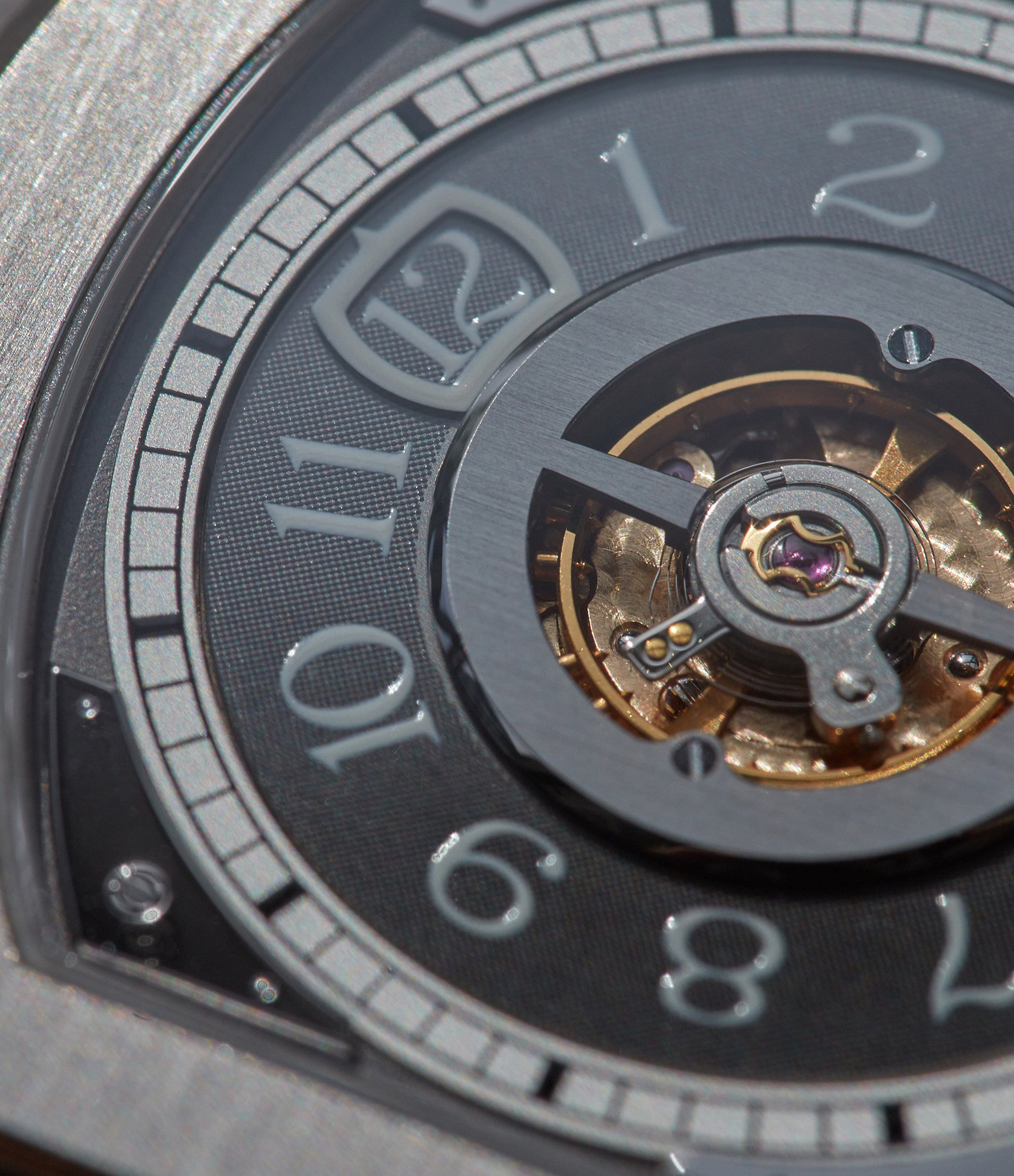 F.P. Journe Vagabondage macros in Three Watchmakers' Unfinished Watches for A Collected Man London