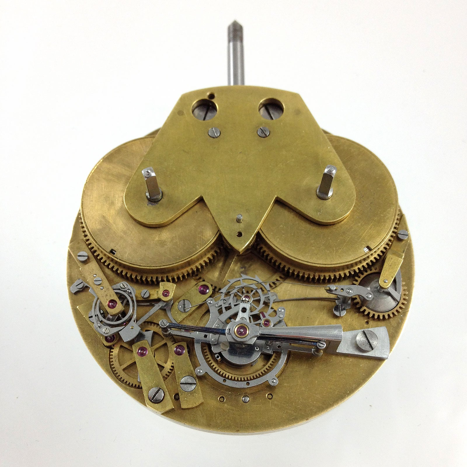 Unfinished Daniels movement front in Three Watchmakers' Unfinished Watches for A Collected Man London