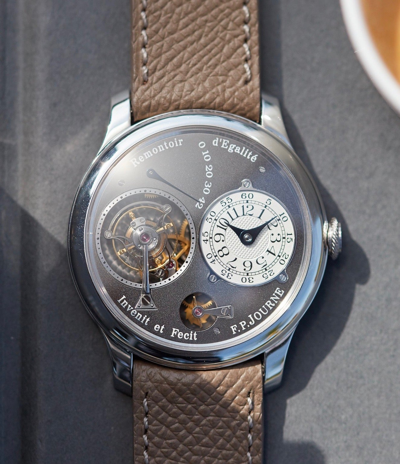 F.P. Journe Tourbillon Souverain Ruthenium shot by A Collected Man London