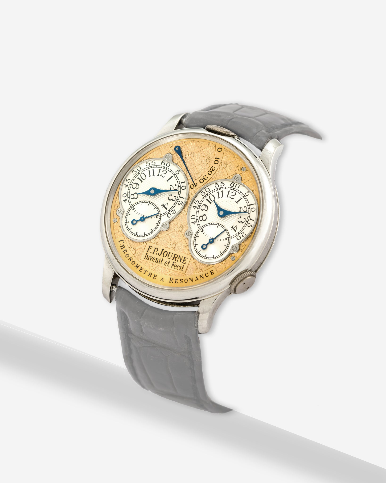 F.P. Journe Resonance with a rare Regency dial engraving