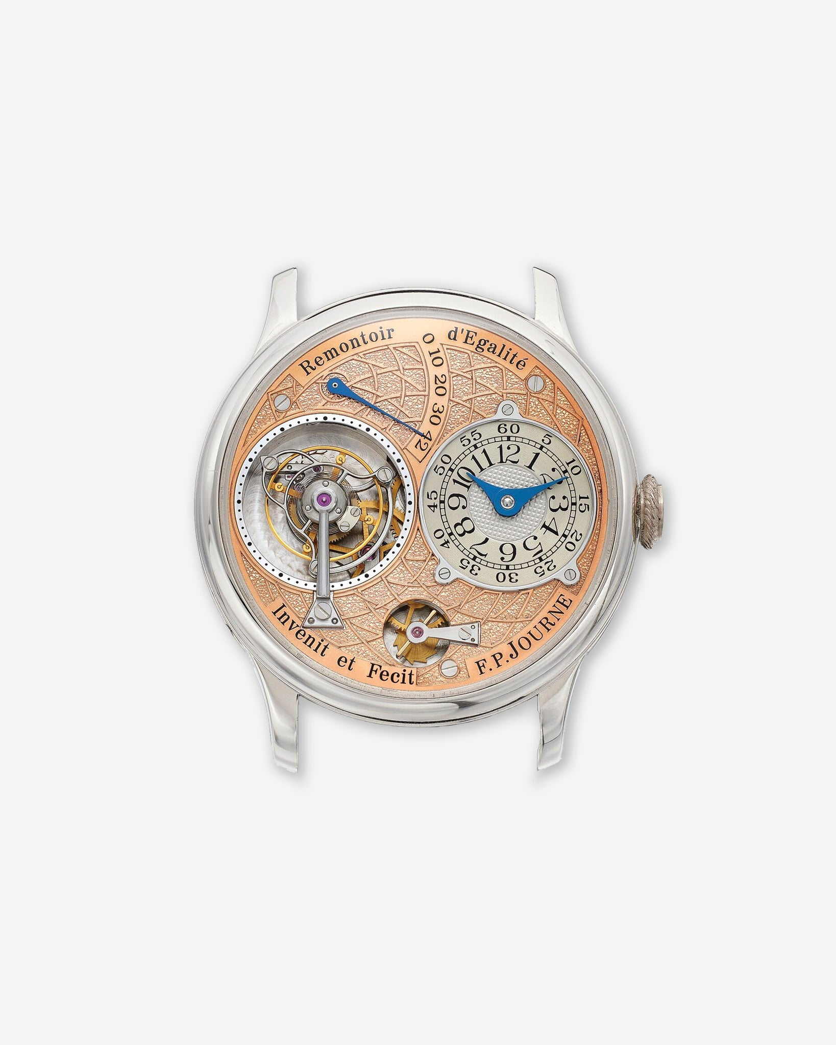 F.P. Journe Tourbillon Souverain with Labyrinth dial engraving
