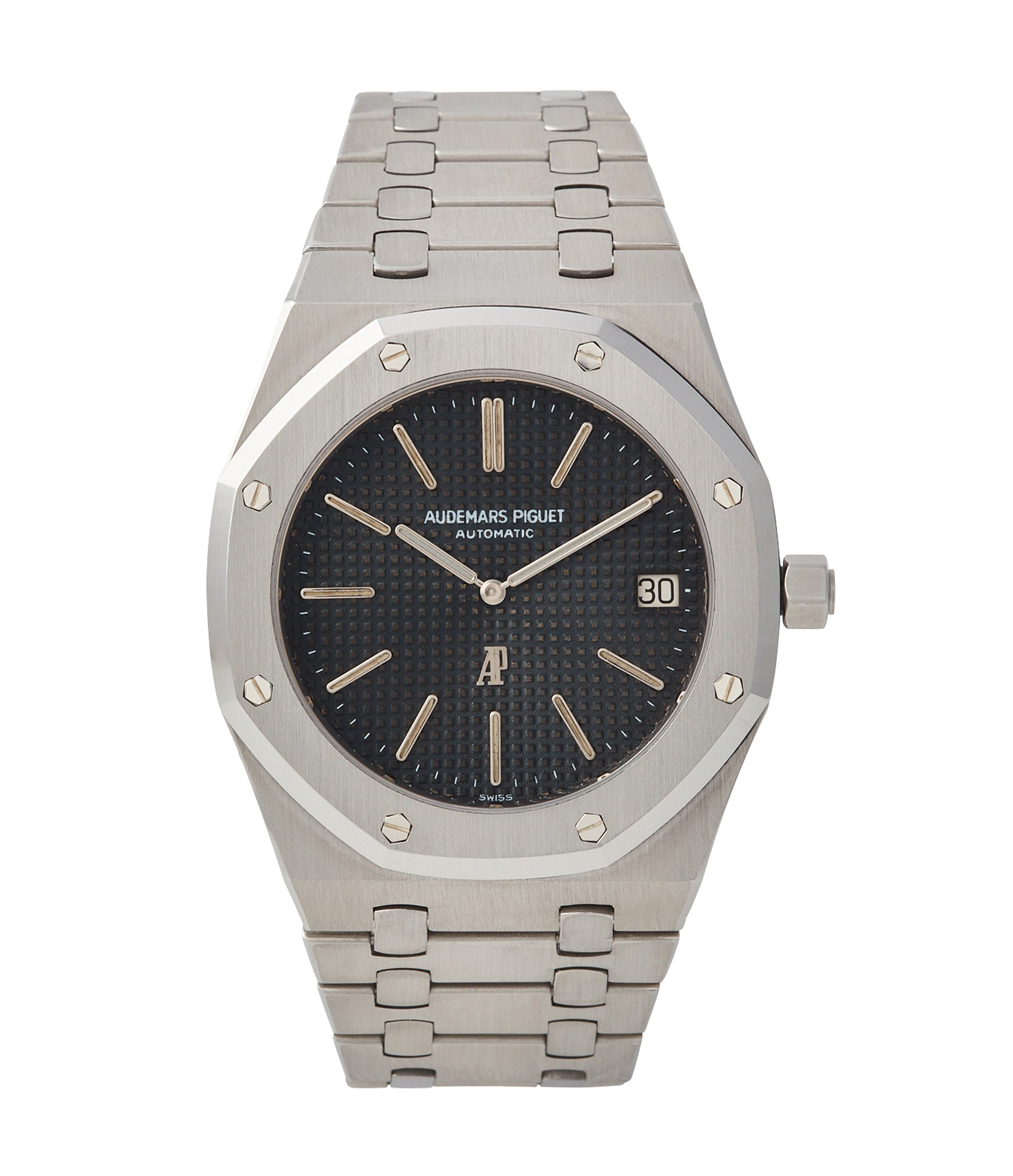 Audemars Piguet reference 15402 Royal Oak black dial stainless steel for A Collected Man London