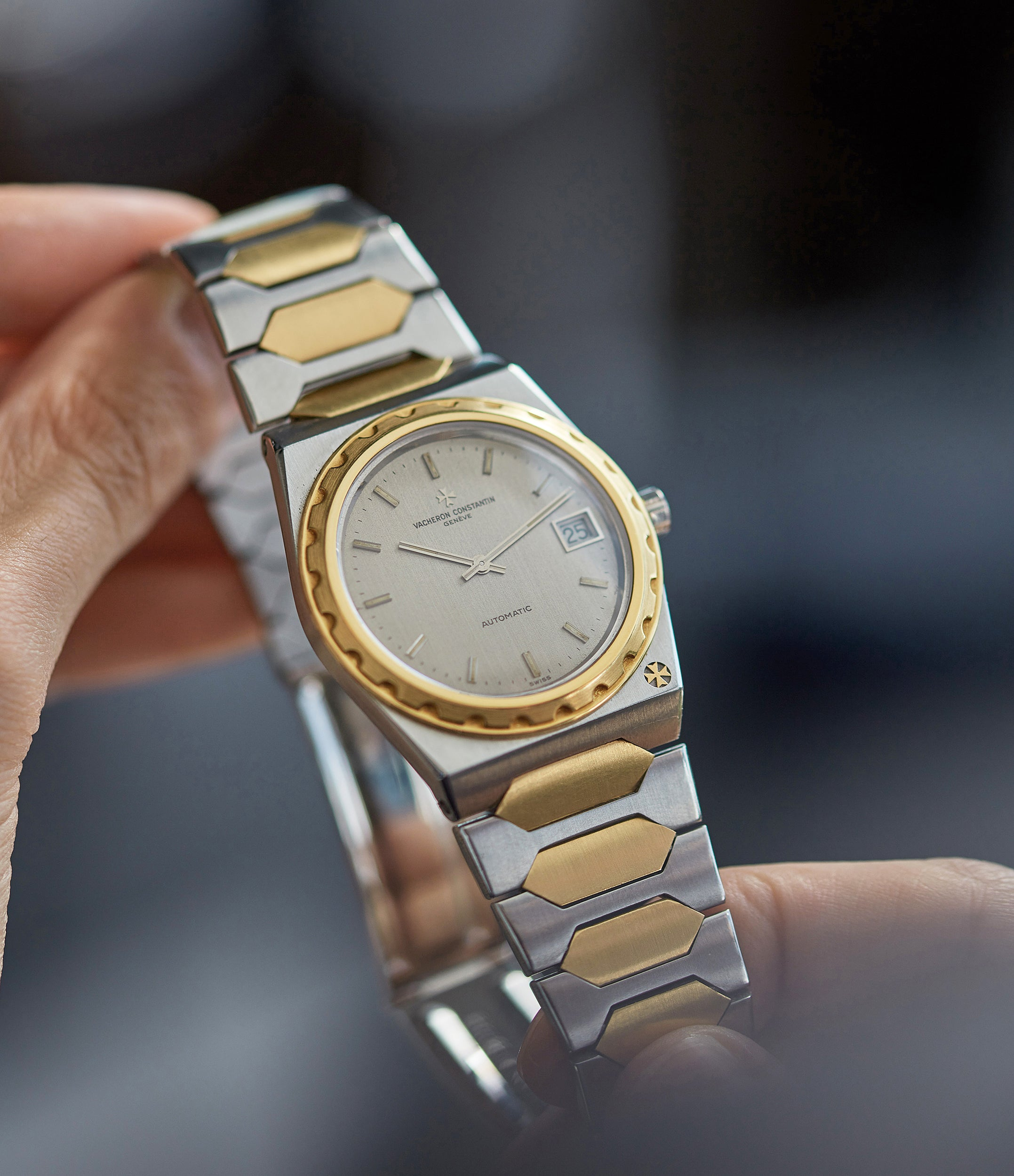 Vacheron Constantin 222 stainless steel and yellow gold two tone sports watch for A Collected Man London