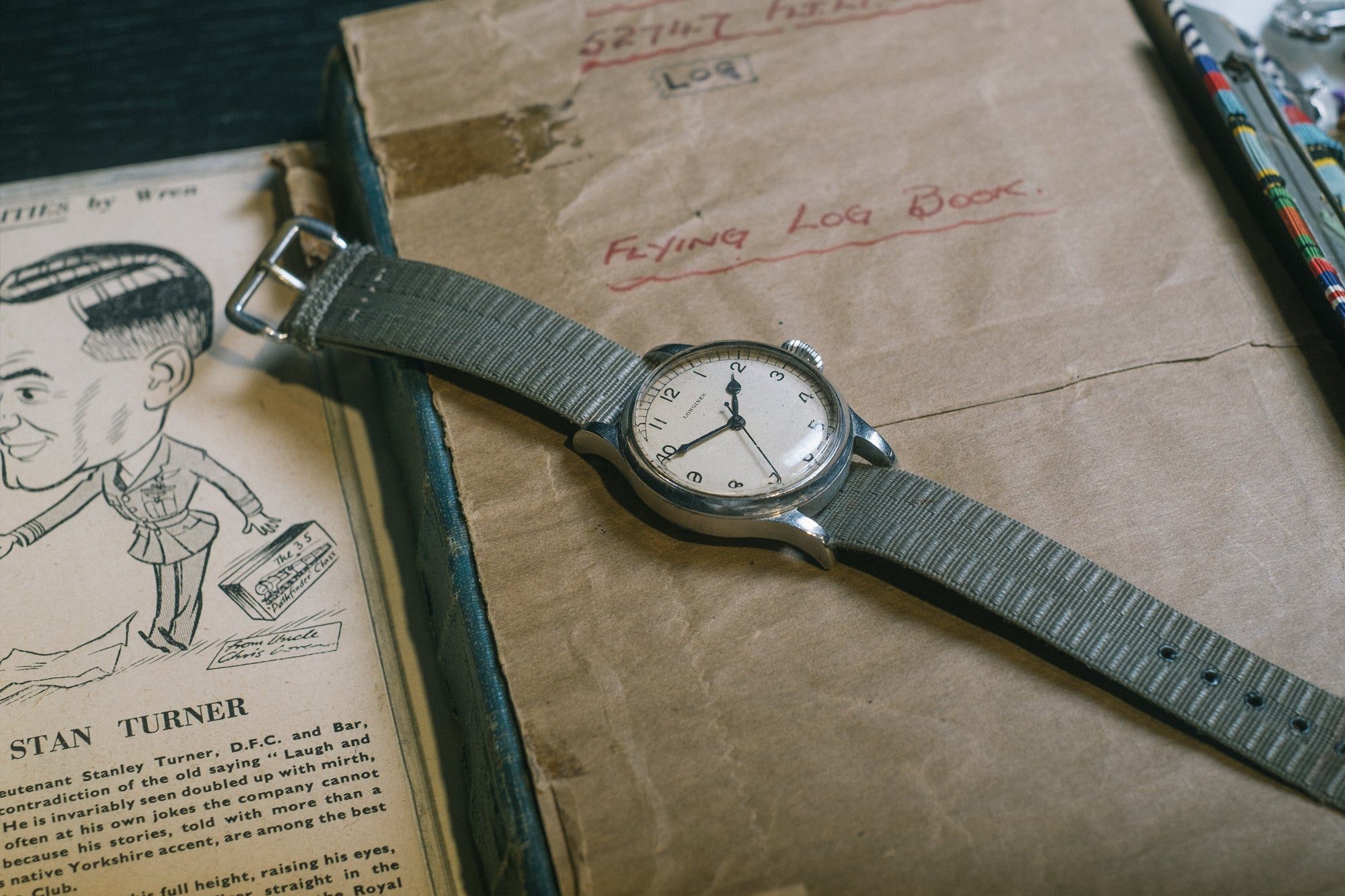 Vintage Longines Matt Hanson interview with A Collected Man
