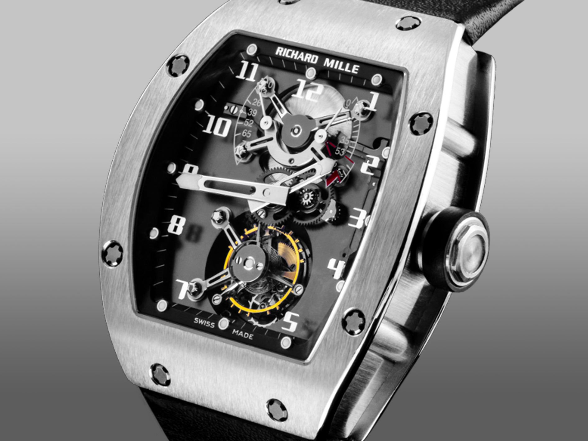 Richard Mille RM001 with a movement made by Renaud et Papi for A Collected Man London