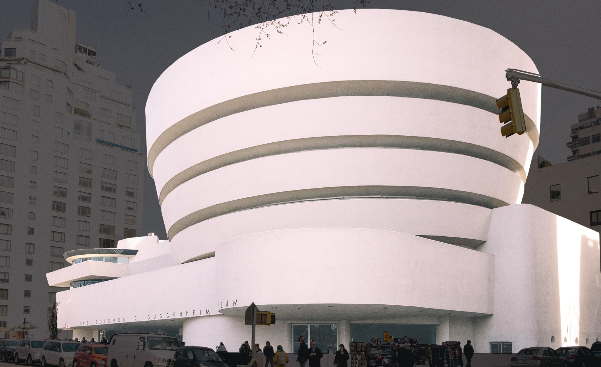 Frank Lloyd Wright's Guggenheim museum in New York