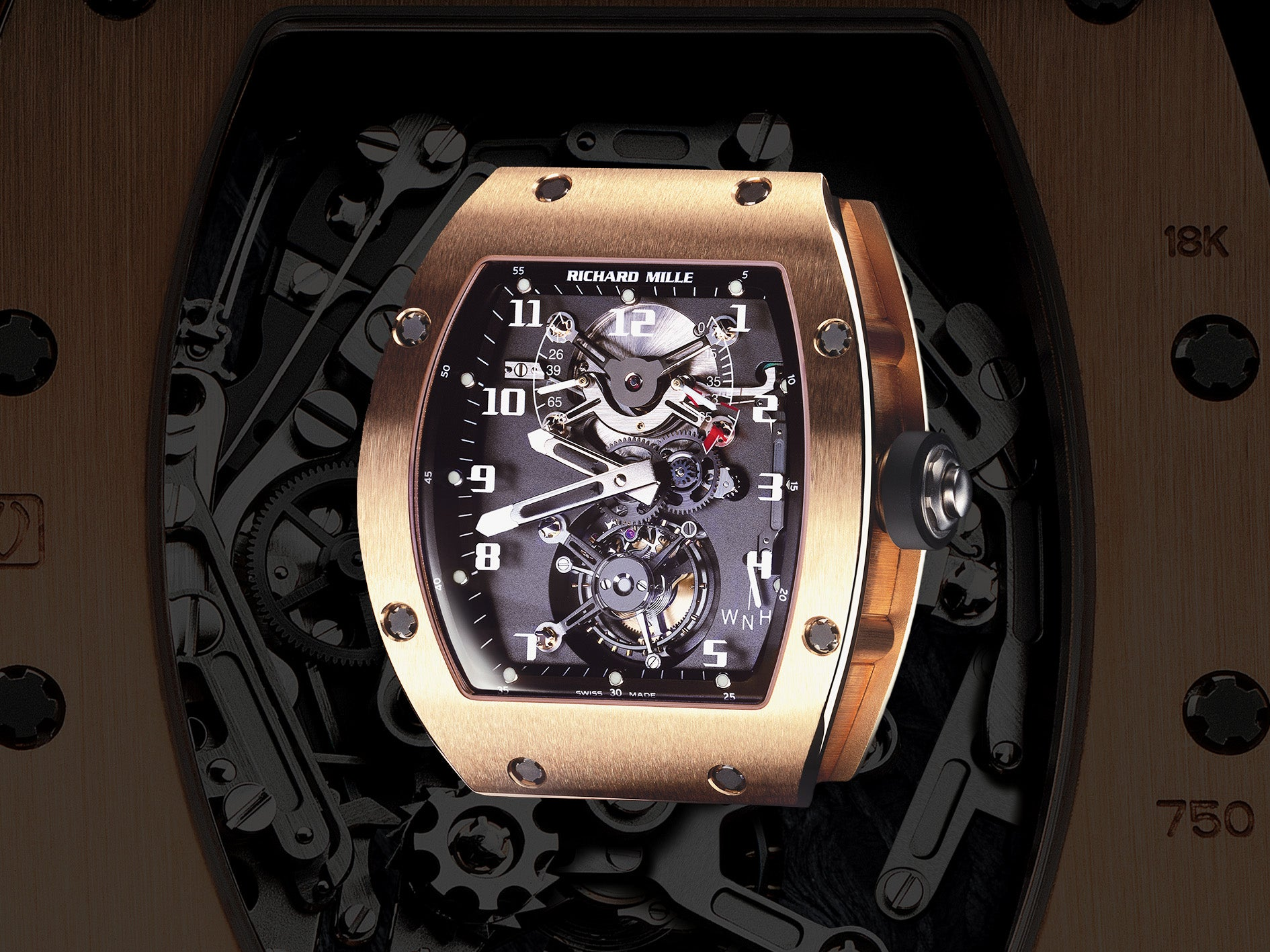 Early Richard Mille RM002 in Rose Gold for the disruptive world of early Richard Mille for A Collected Man London