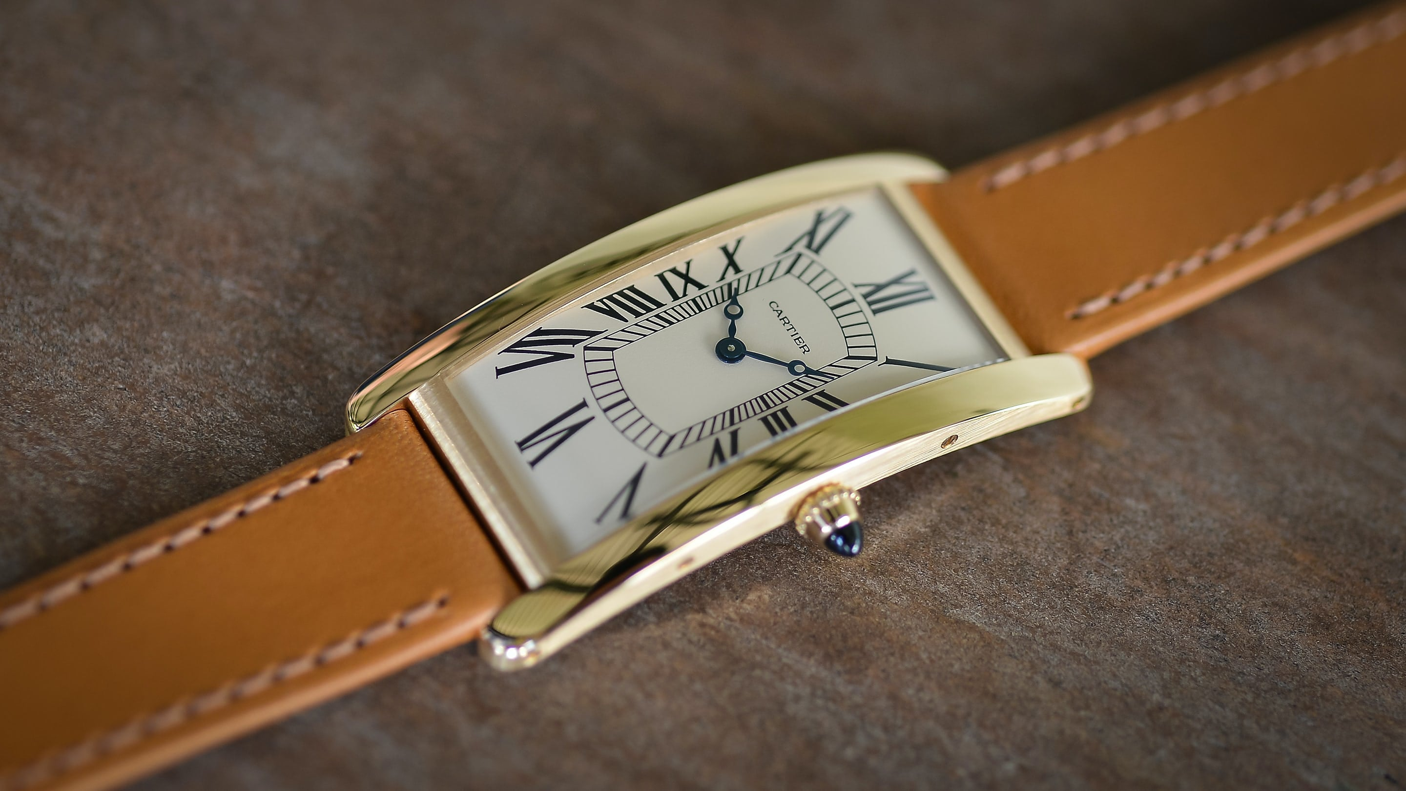 Cartier Tank Cintrée released in 2021 watchmaking in times of crisis for A Collected Man London