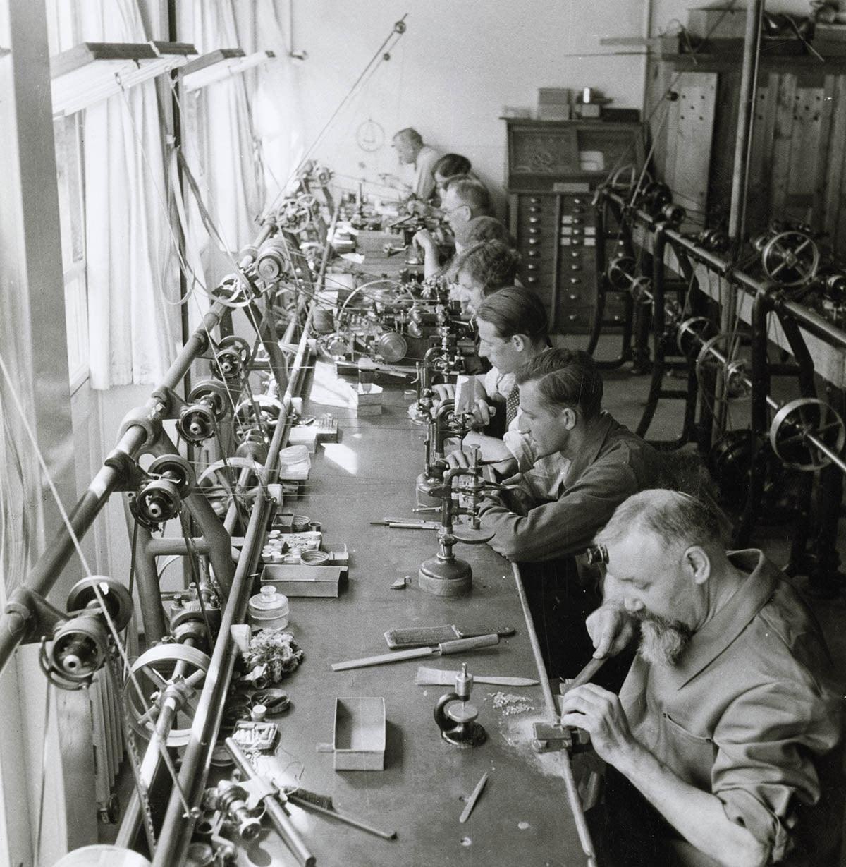 Patek Philippe workshop vintage watchmaking in times of crisis for A Collected Man London