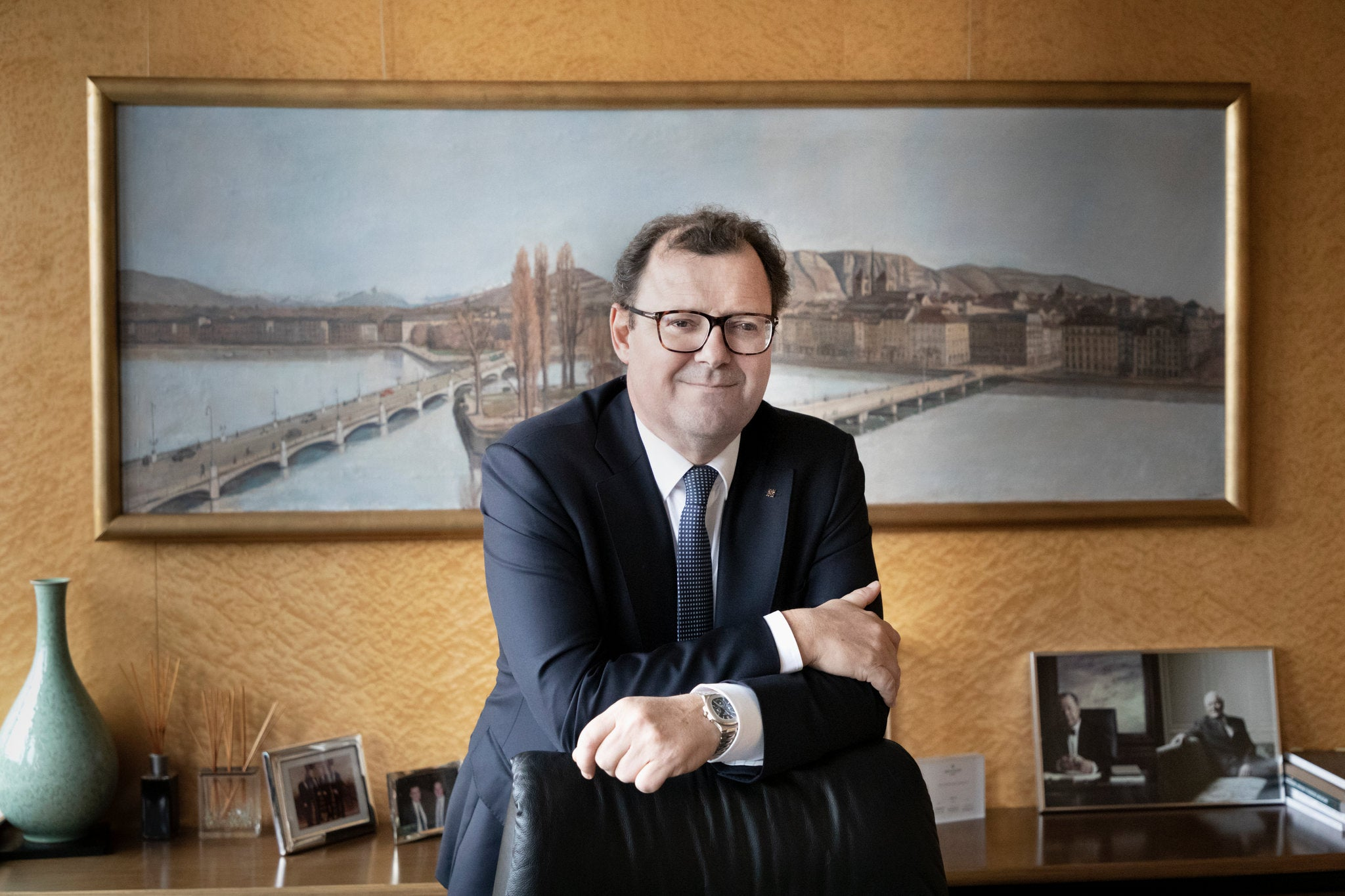 Thierry Stern President of Patek Philippe watchmaking in times of crisis for A Collected Man London