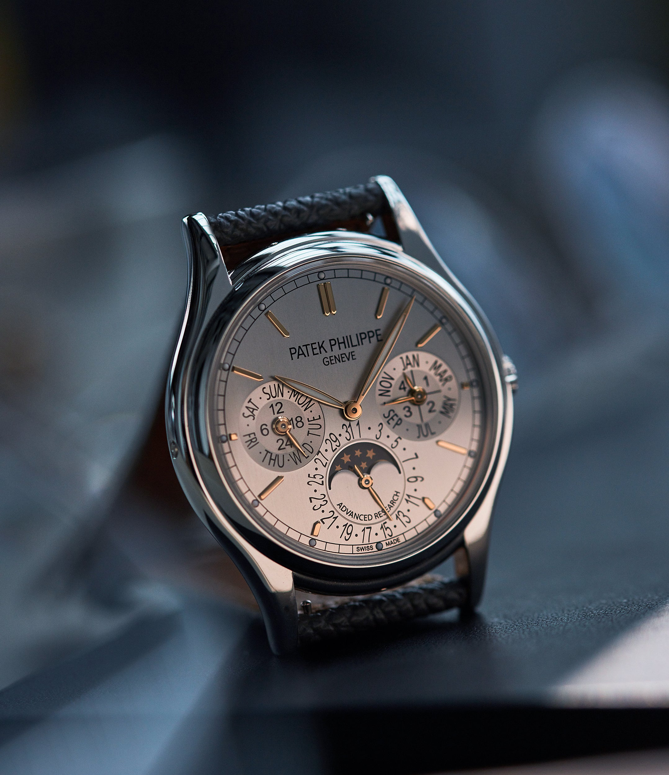 Patek Philippe Advanced Research 5550P watchmaking in times of Crisis A Collected Man London