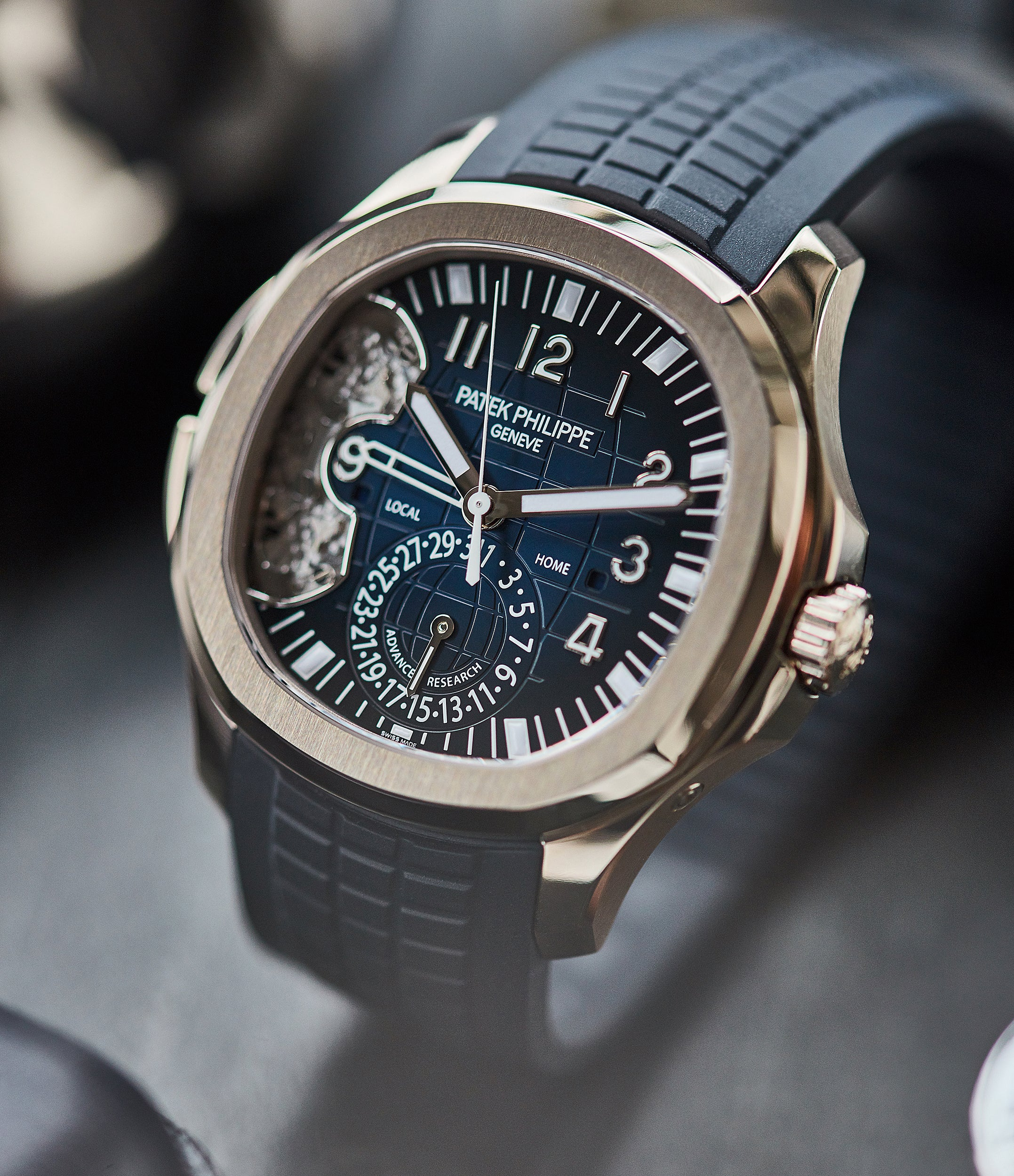 Patek Philippe Advanced Research 5650 watchmaking in times of Crisis A Collected Man London