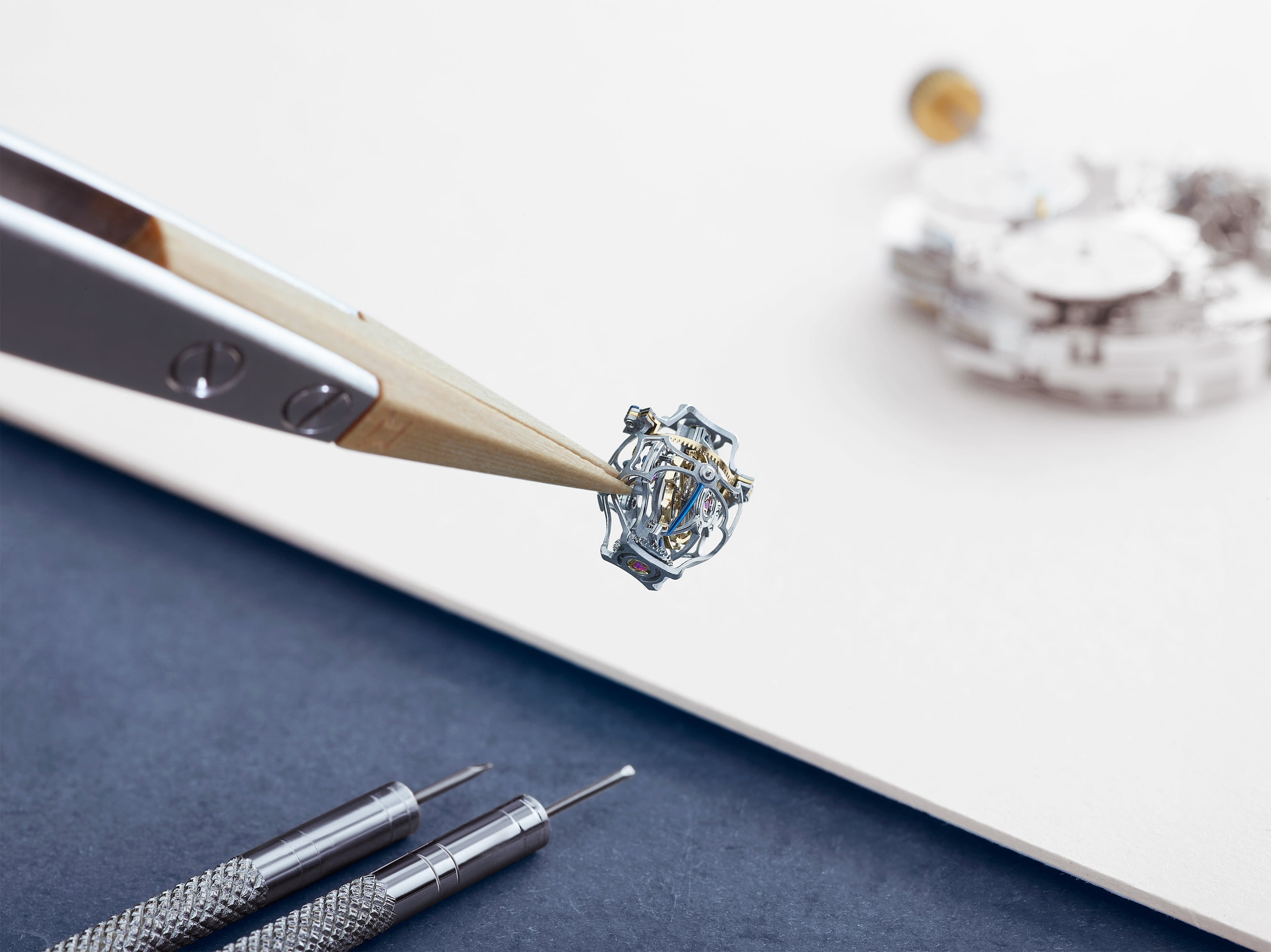 Jaeger-LeCoultre Gyrotourbillon watchmaking in times of crisis for A Collected Man London