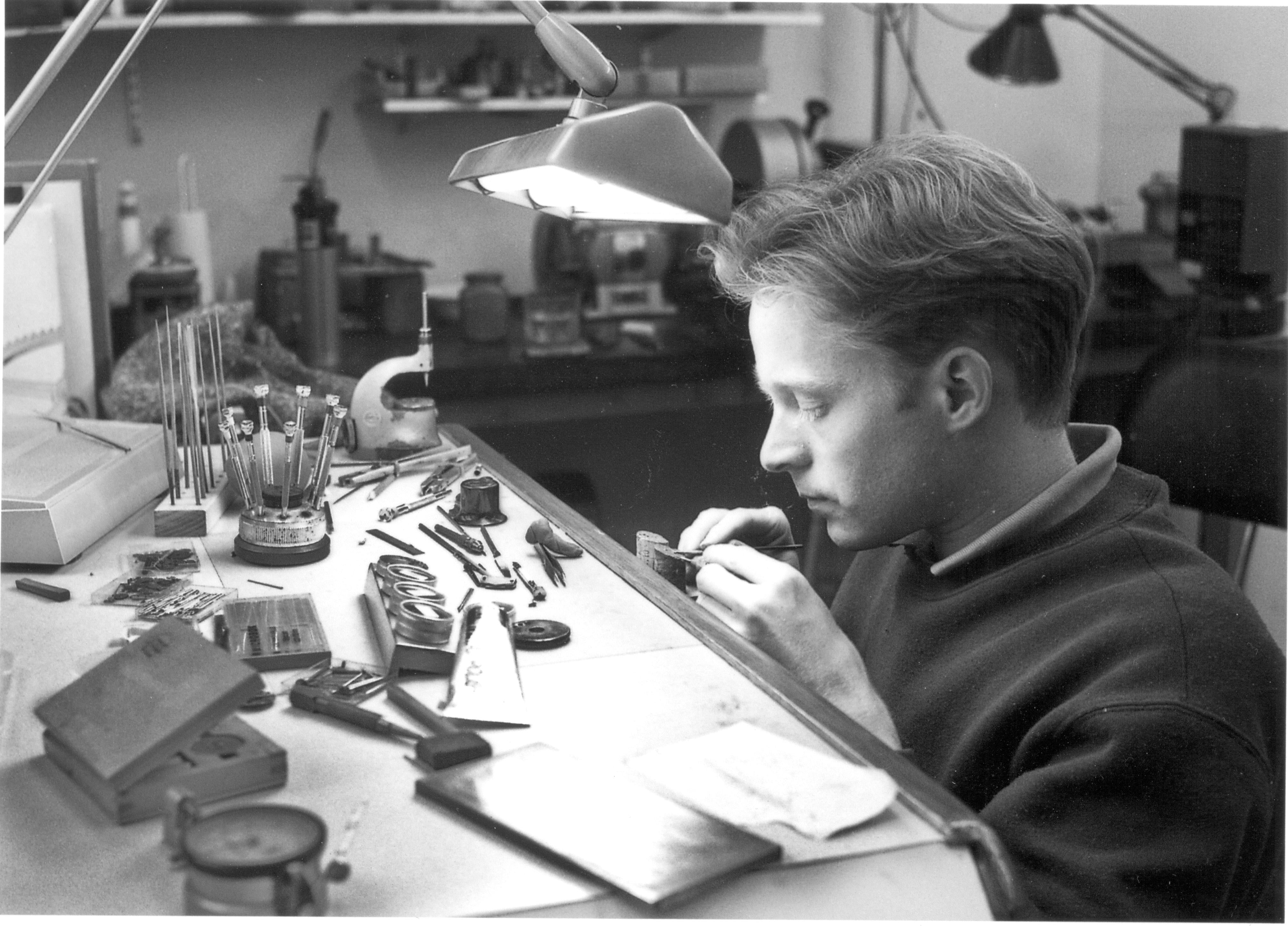 Roger Smith in Watchmakers Look Back on the First Watch They Made for A Collected Man London