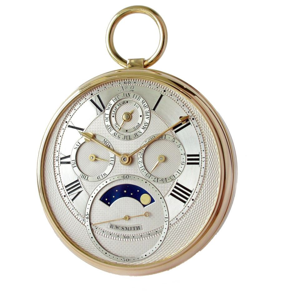 Roger Smith pocket watch in Watchmakers Look Back on the First Watch They Made for A Collected Man London