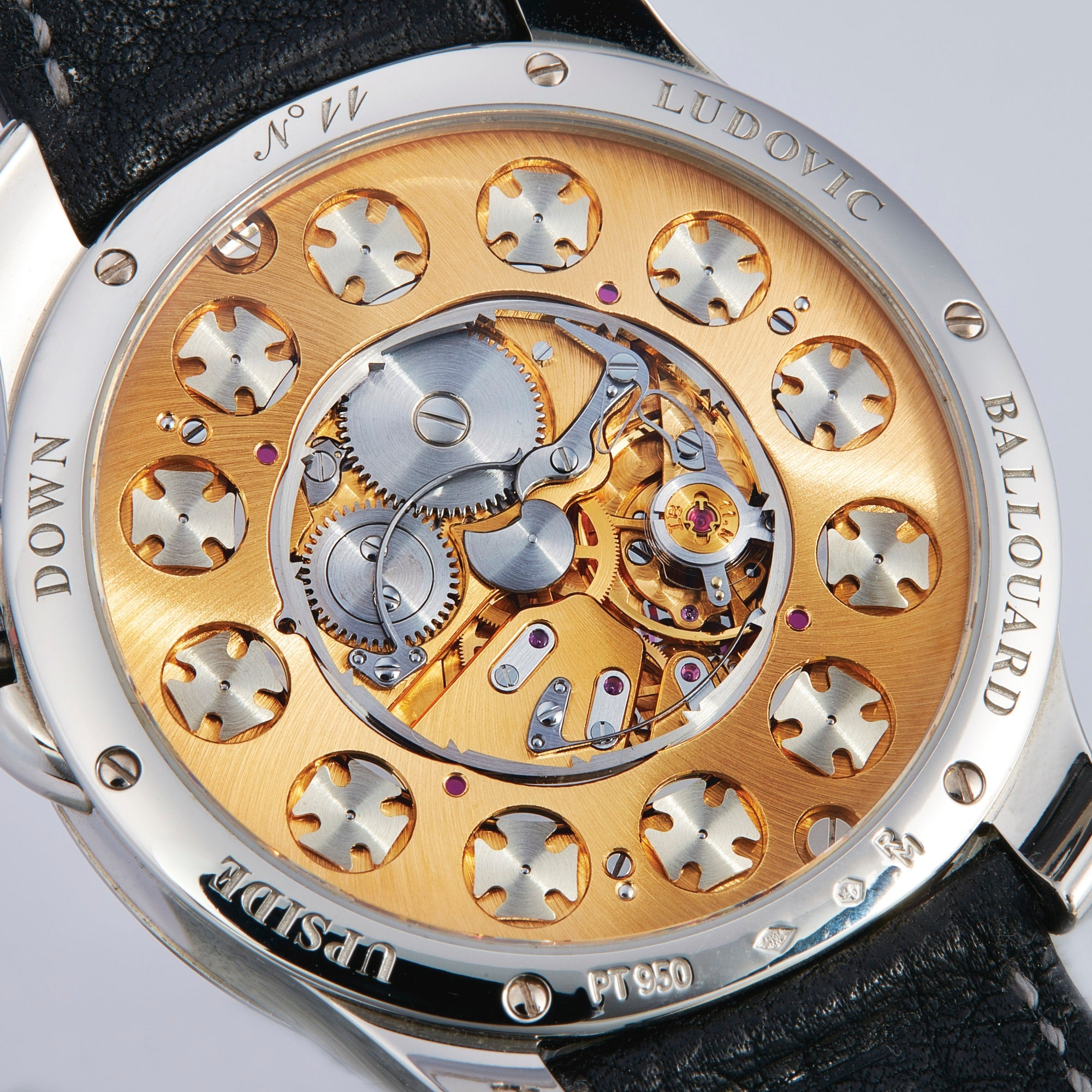 Early Upside Down by Ludovic Ballouard in Watchmakers Look Back on the First Watch They Made for A Collected Man London