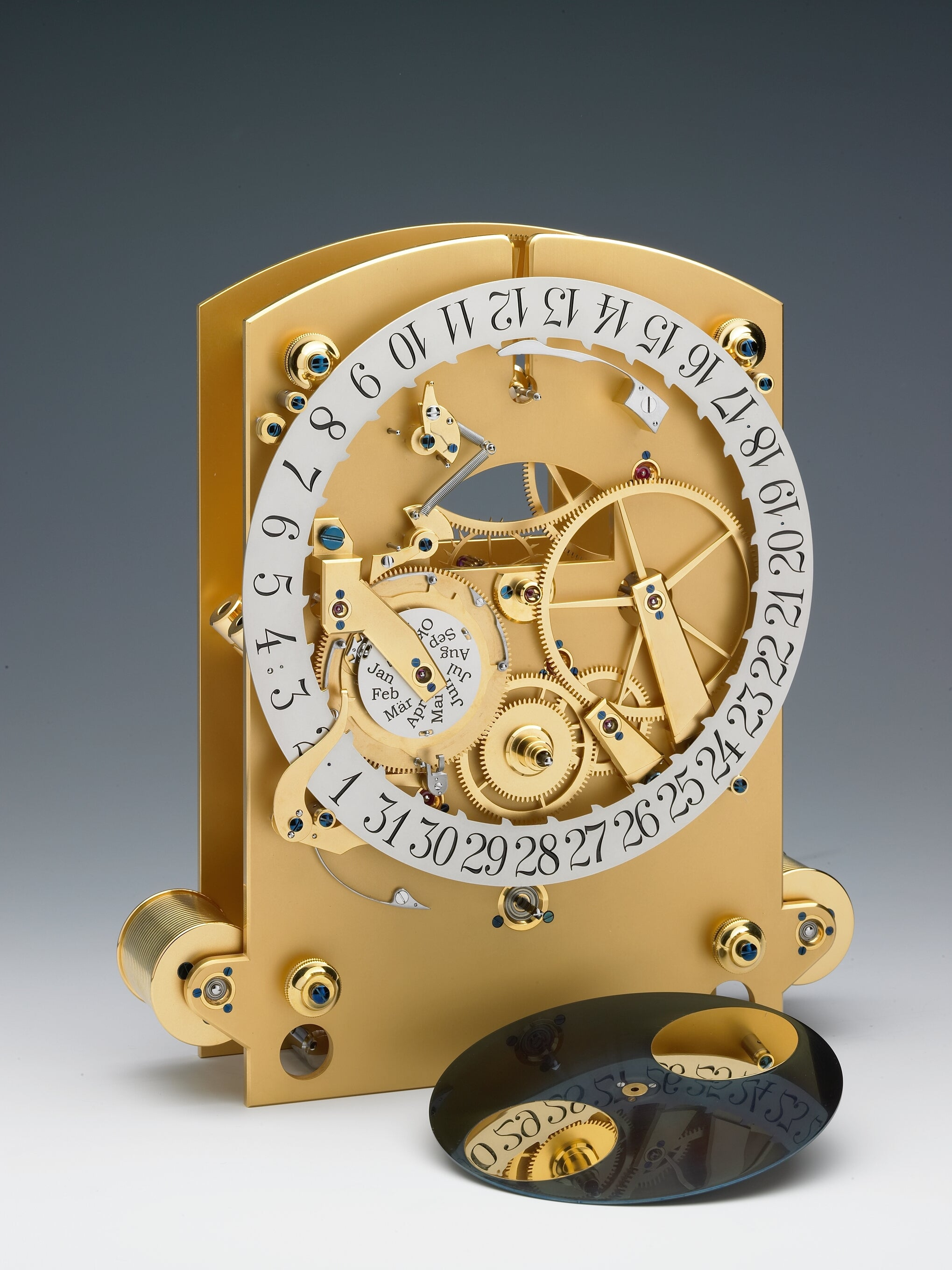 Early table clock by Marco Lang in Watchmakers Look Back on the First Watch They Made for A Collected Man London