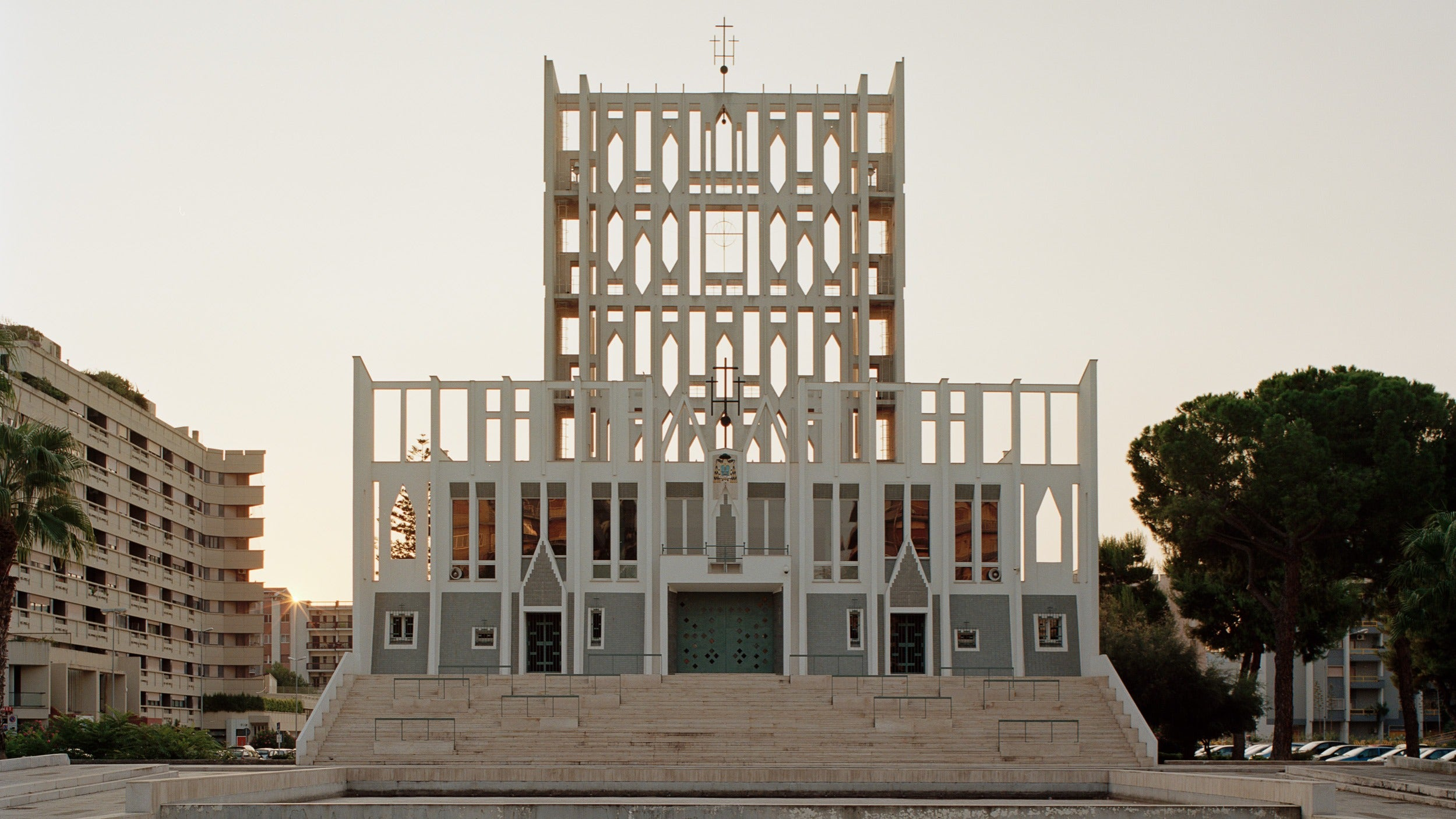 Concattedrale Gran Madre di Dio cathedral in Taranto in The Eclectic Life and Work of Gio Ponti for A Collected Man London