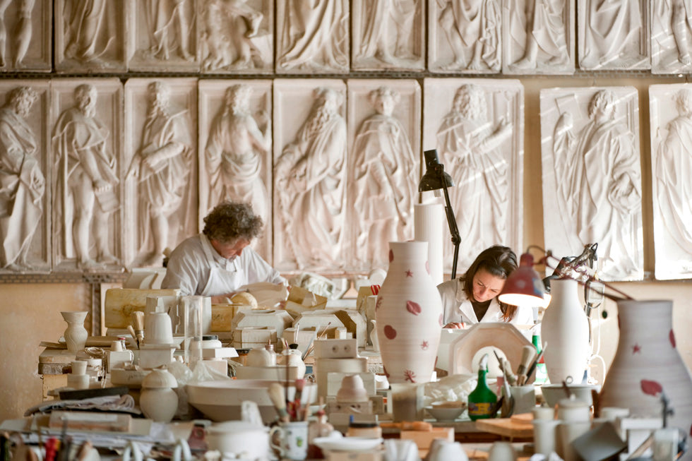 Richard Ginori ceramics workshop in The Eclectic Life and Work of Gio Ponti for A Collected Man London