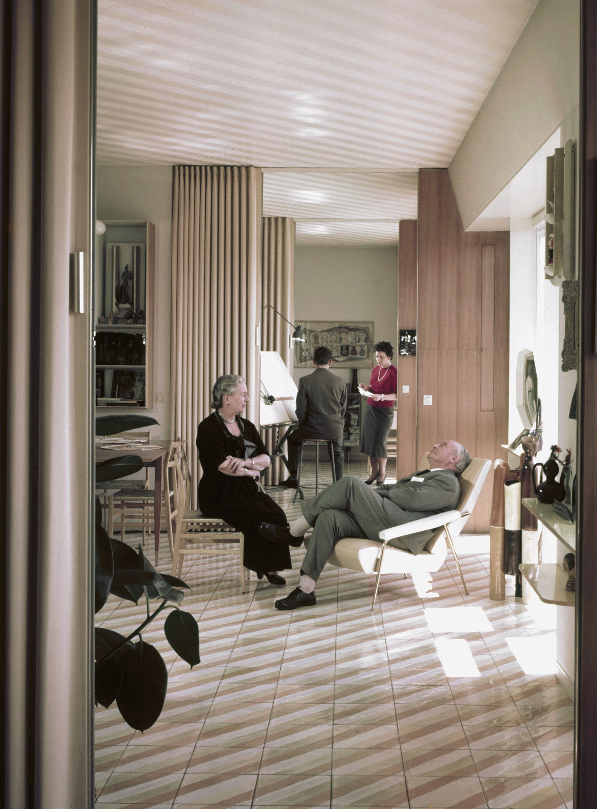 Gio Ponti and his wife Giulia in The Eclectic Life and Work of Gio Ponti for A Collected Man London