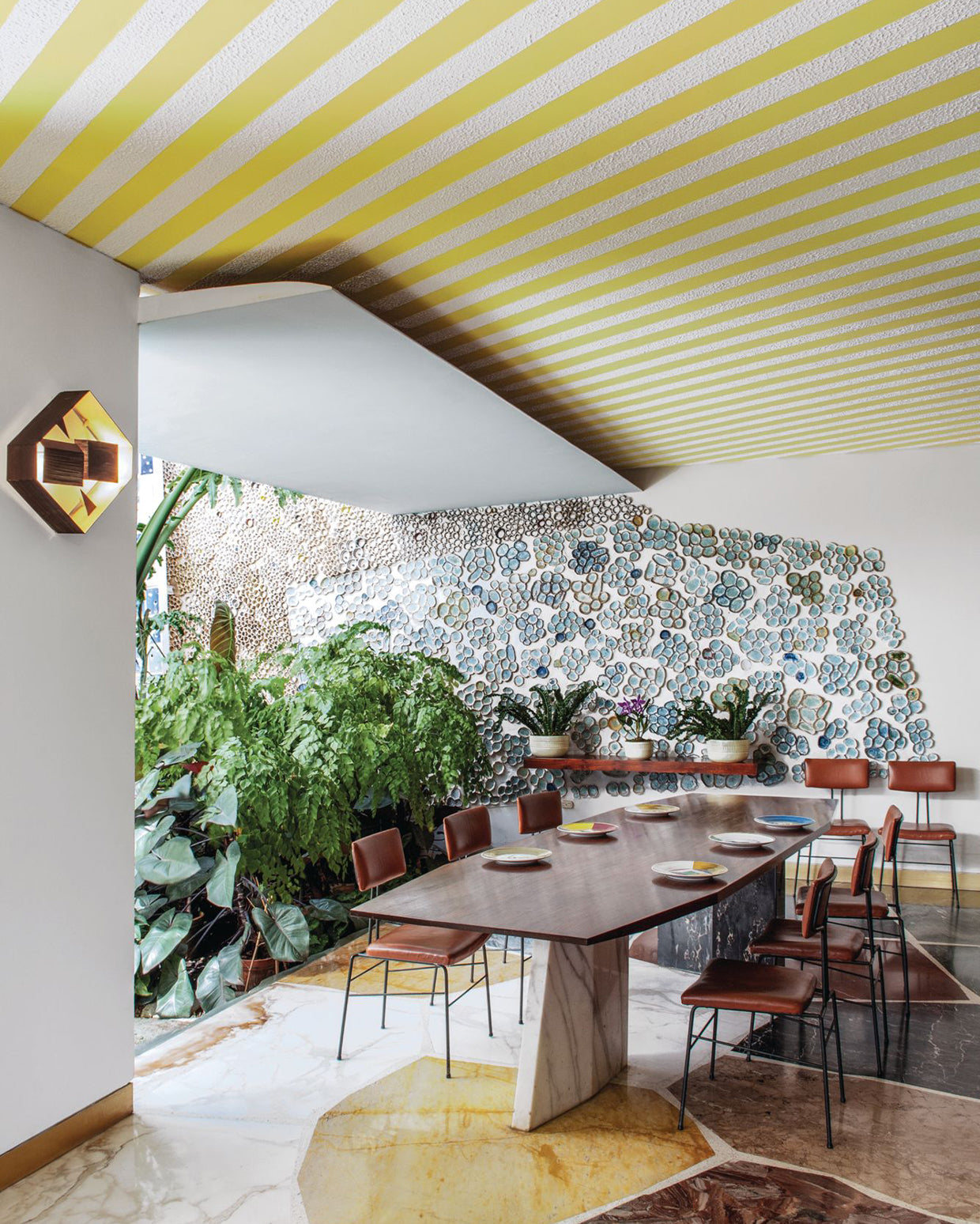 Gio Ponti Interior images of Villa Planchart in The Eclectic Life and Work of Gio Ponti for A Collected Man London