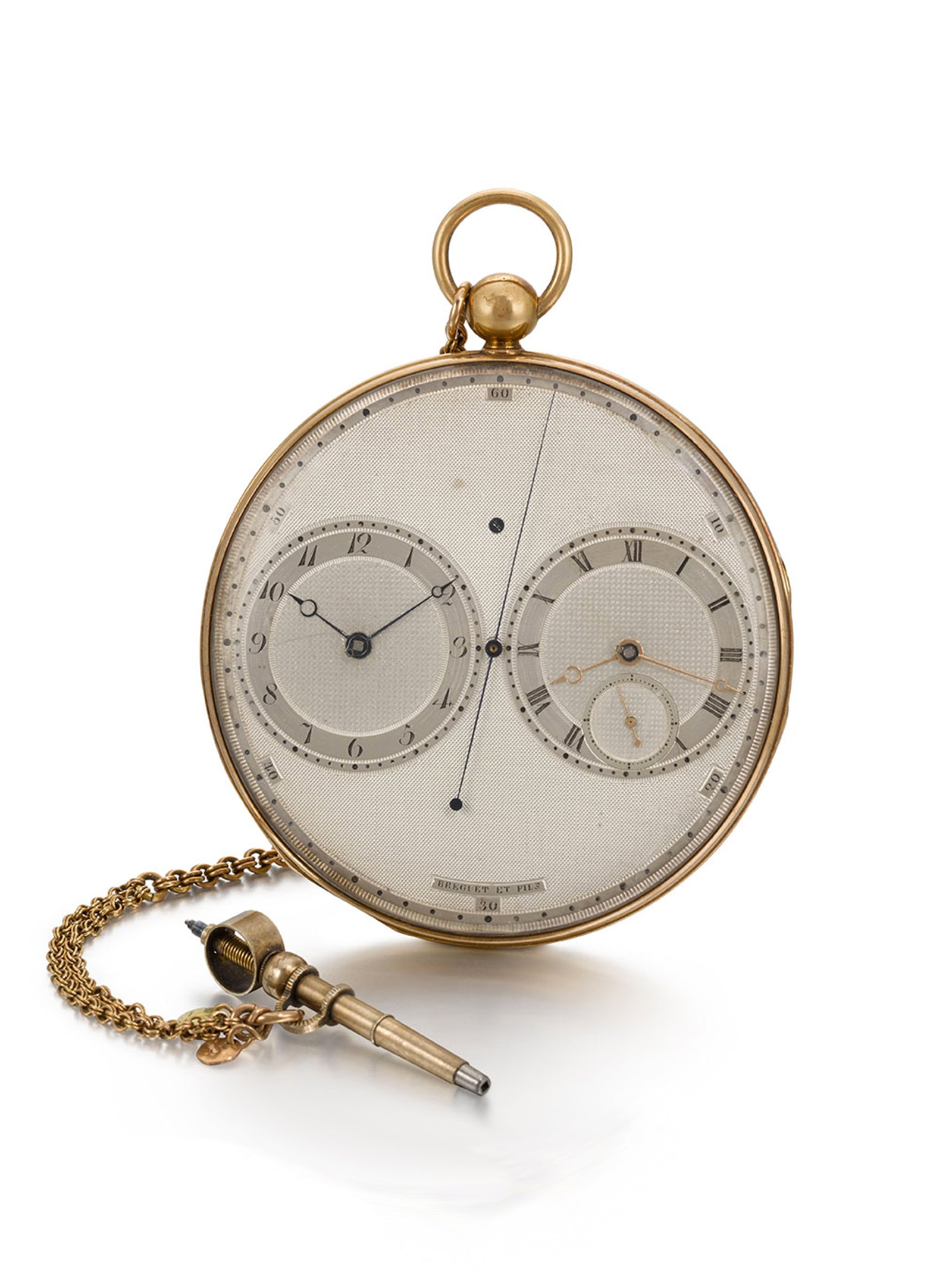 Breguet Resonance pocket watch front in Chasing Accuracy in Mechanical Wristwatches for A Collected Man London
