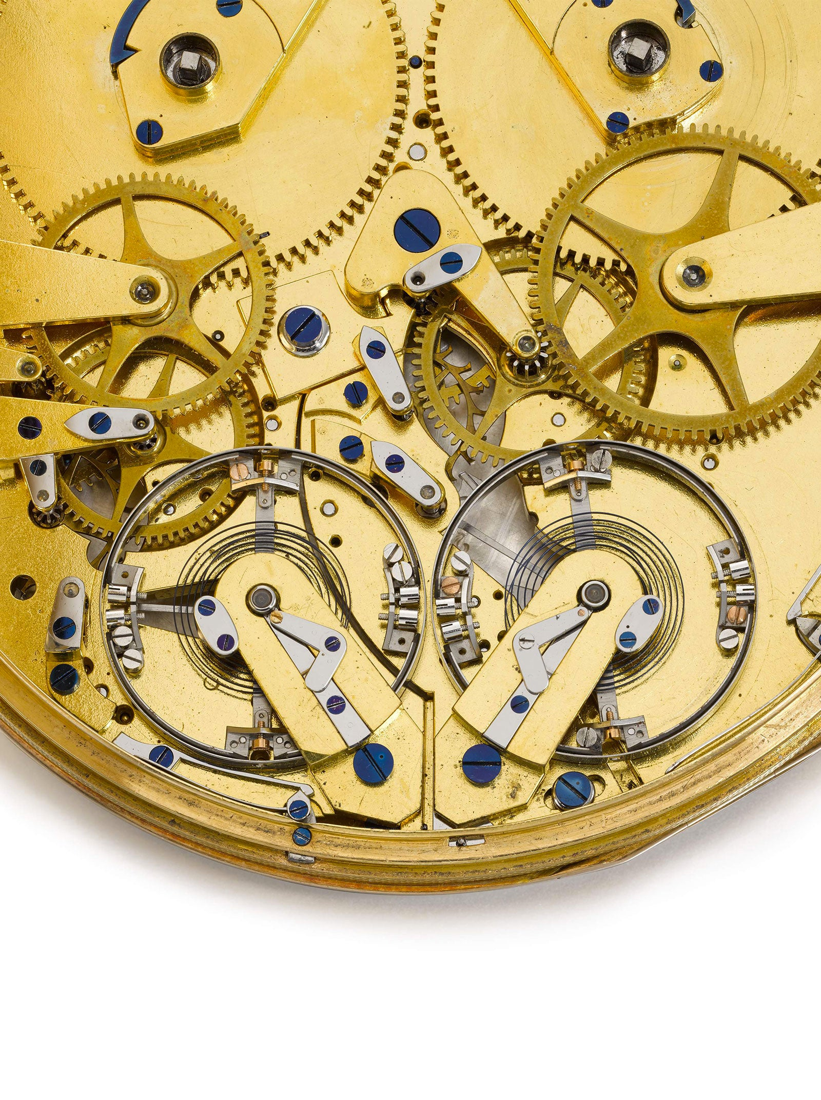 Breguet Resonance pocket watch back in Chasing Accuracy in Mechanical Wristwatches for A Collected Man London