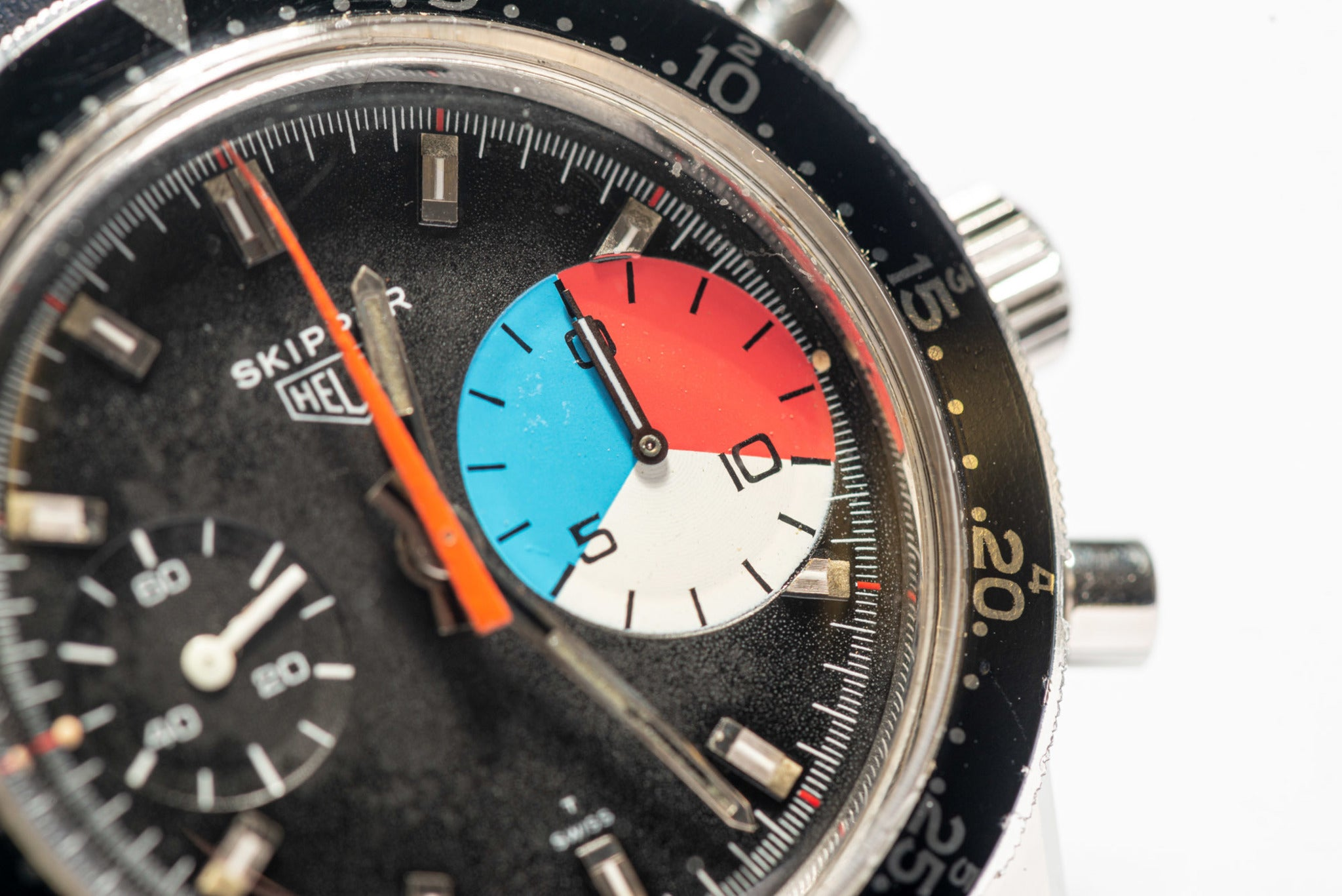 Heuer Skipper in The Colourful World of Vintage Watches for A Collected Man London